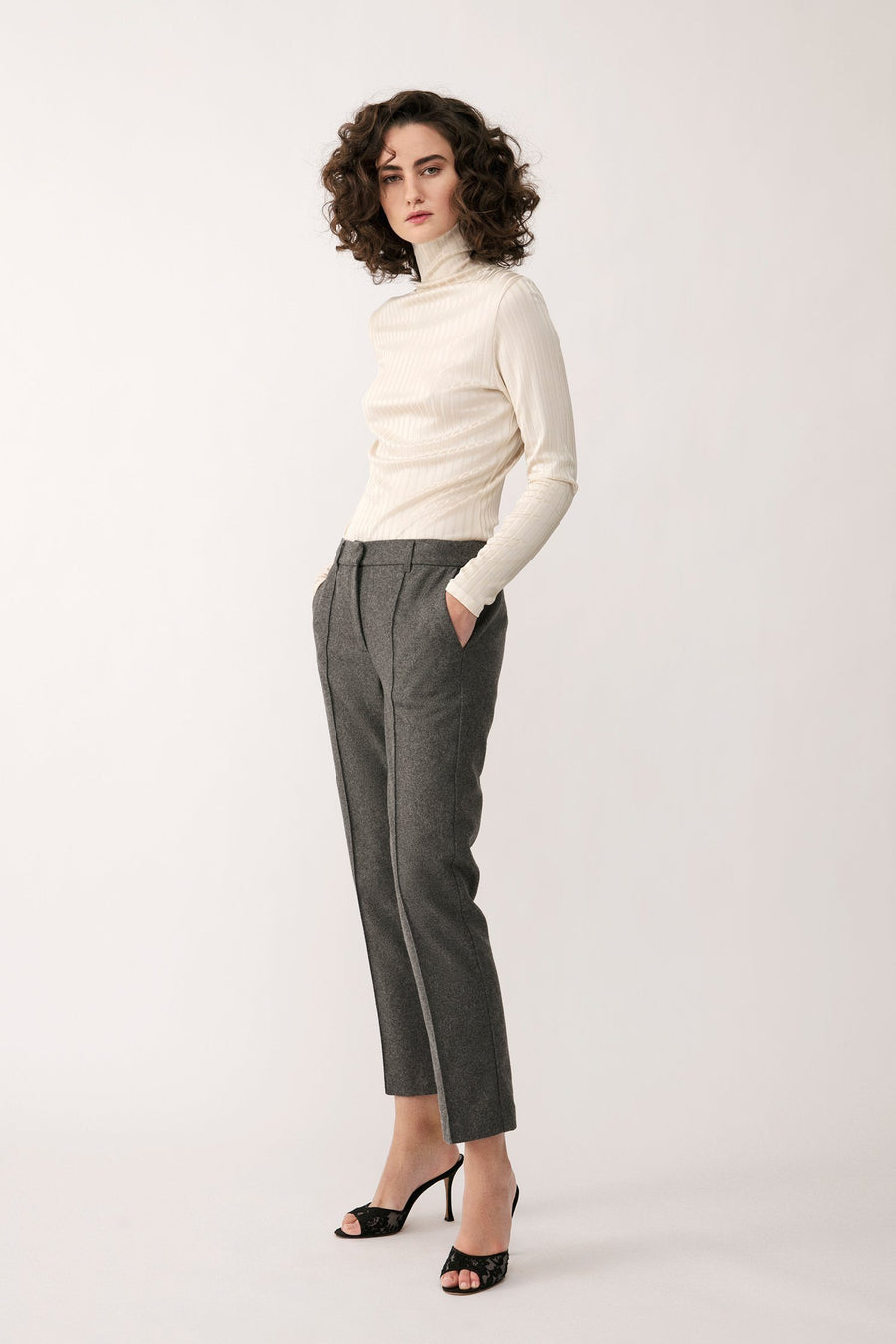 BEN TROUSERS - GREY Trousers Stylein