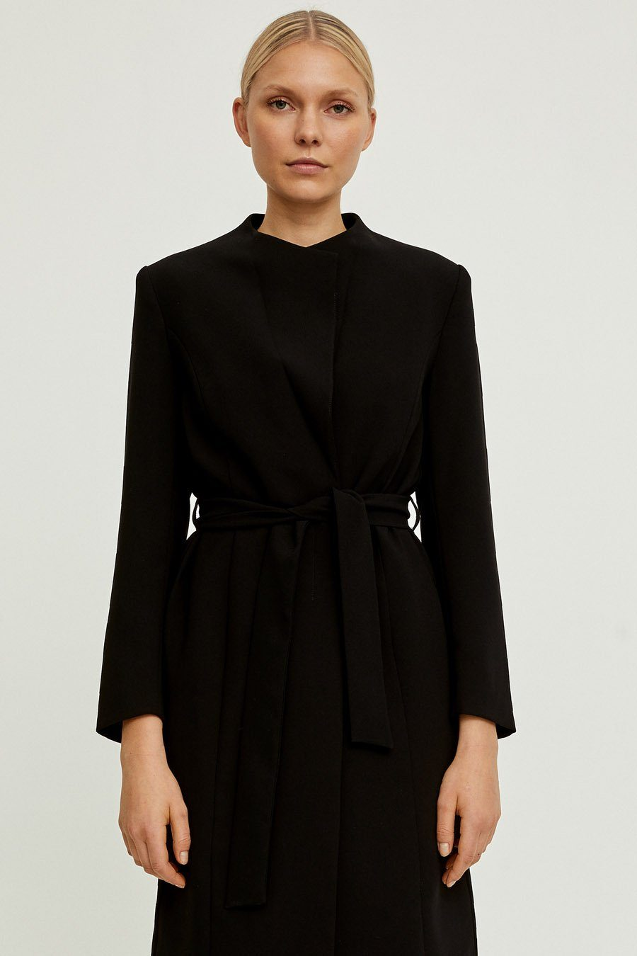 BIANCA COAT - BLACK Jacket Stylein