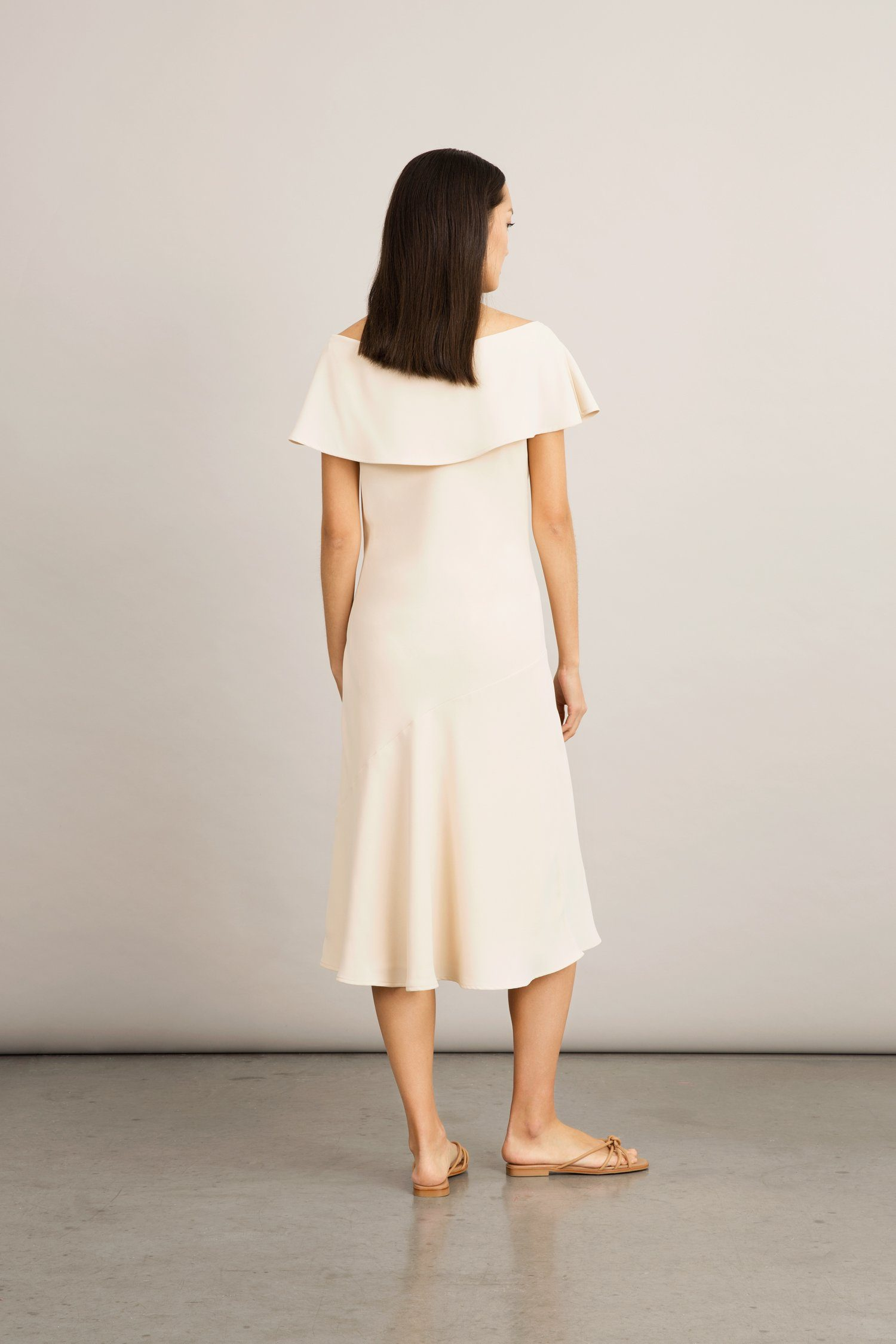 BINORO DRESS - CREAM Dress Stylein