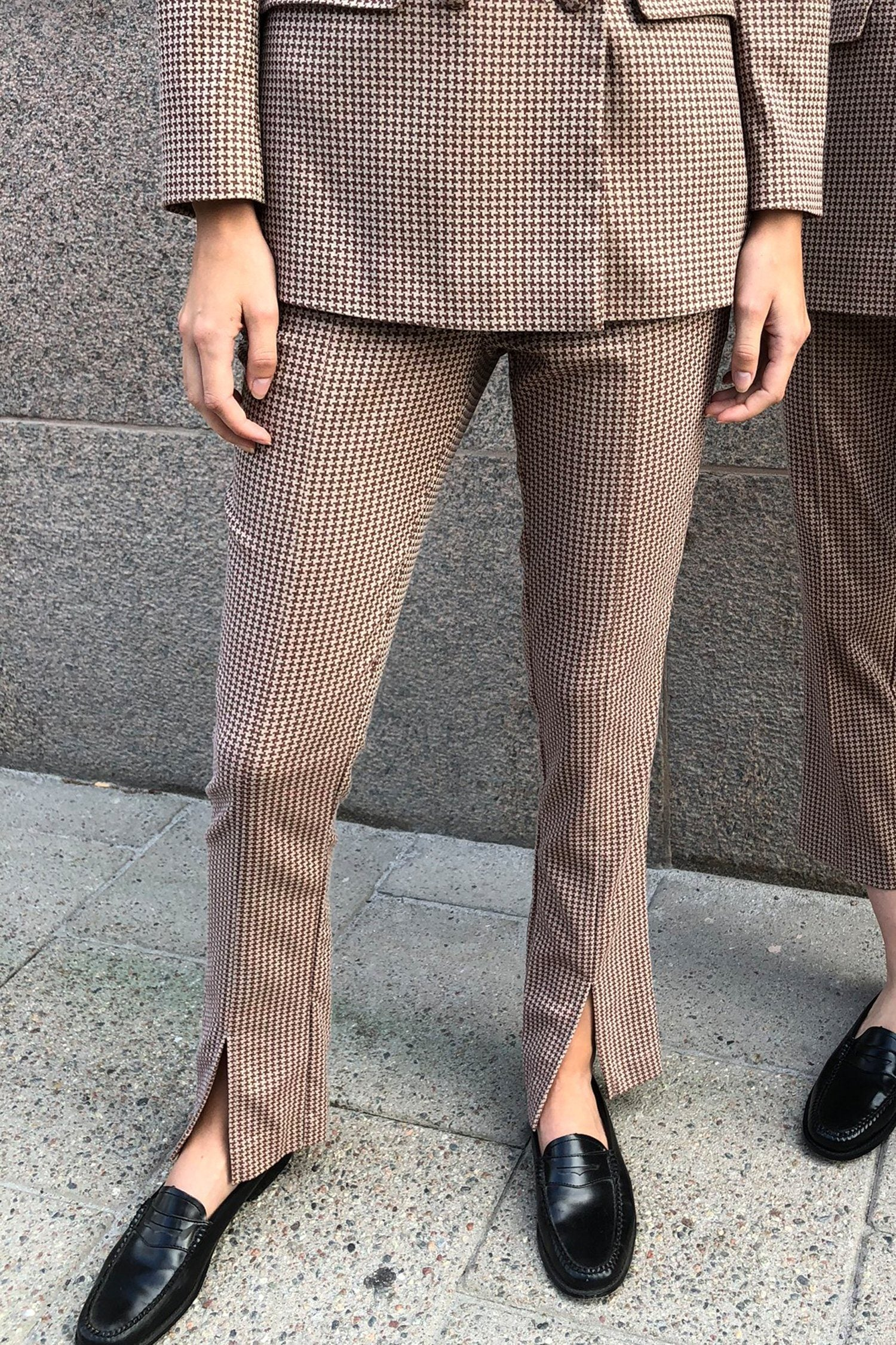 BISHA TROUSERS - CHECK Trousers Stylein
