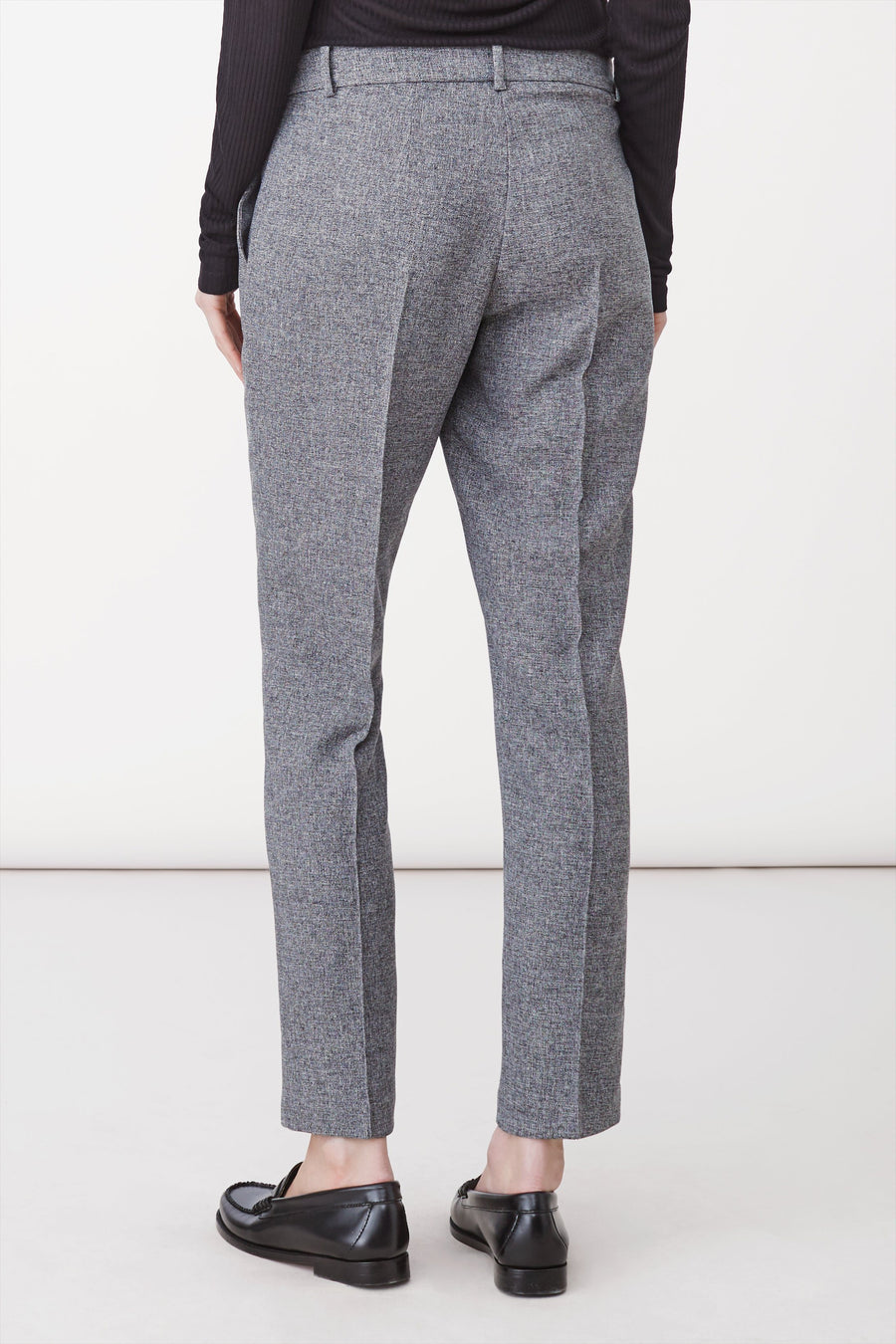 BLEECKER TROUSERS - GREY MELANGE Trousers Stylein