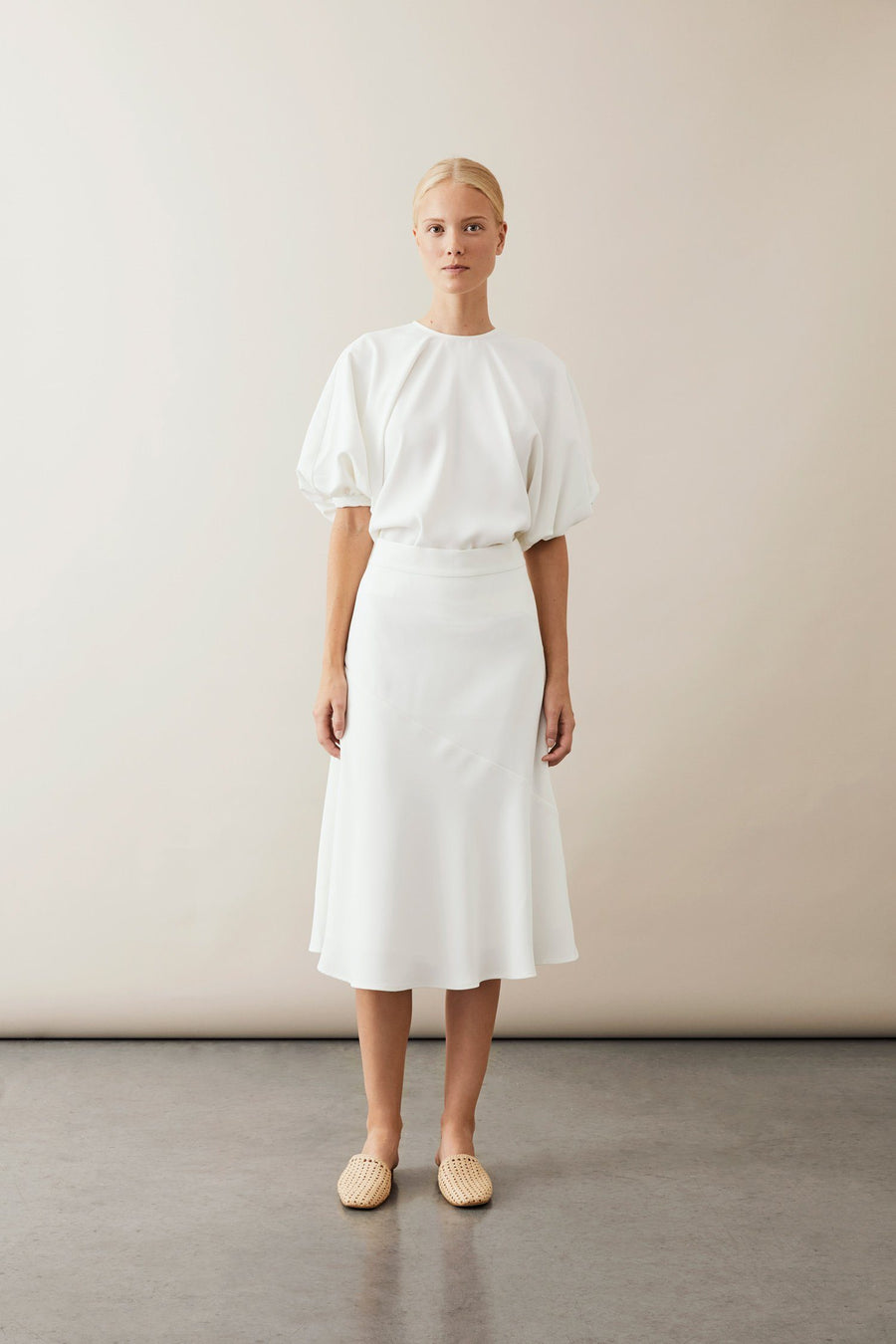 BONSAI SKIRT - WHITE Skirt Stylein