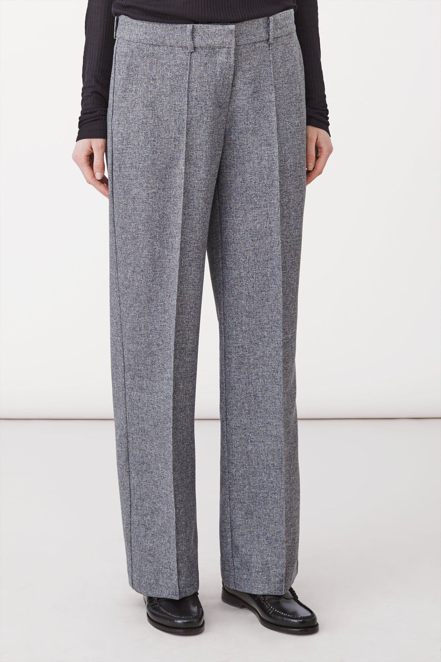 BORIS TROUSERS - GREY MELANGE Trousers Stylein