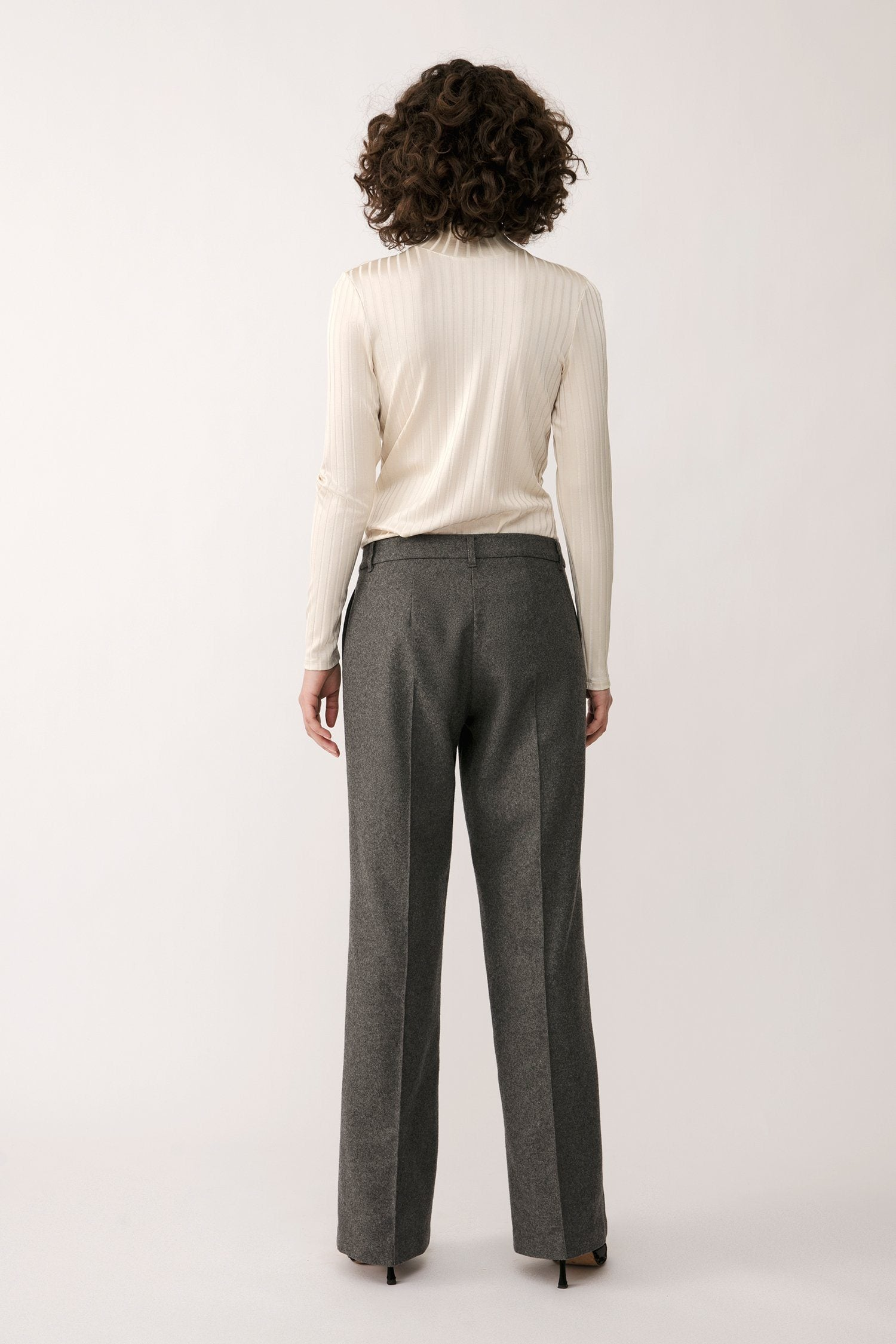 BORIS TROUSERS - GREY Trousers Stylein