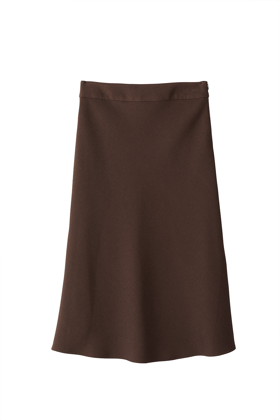 BRIDGE SKIRT - DARK BROWN