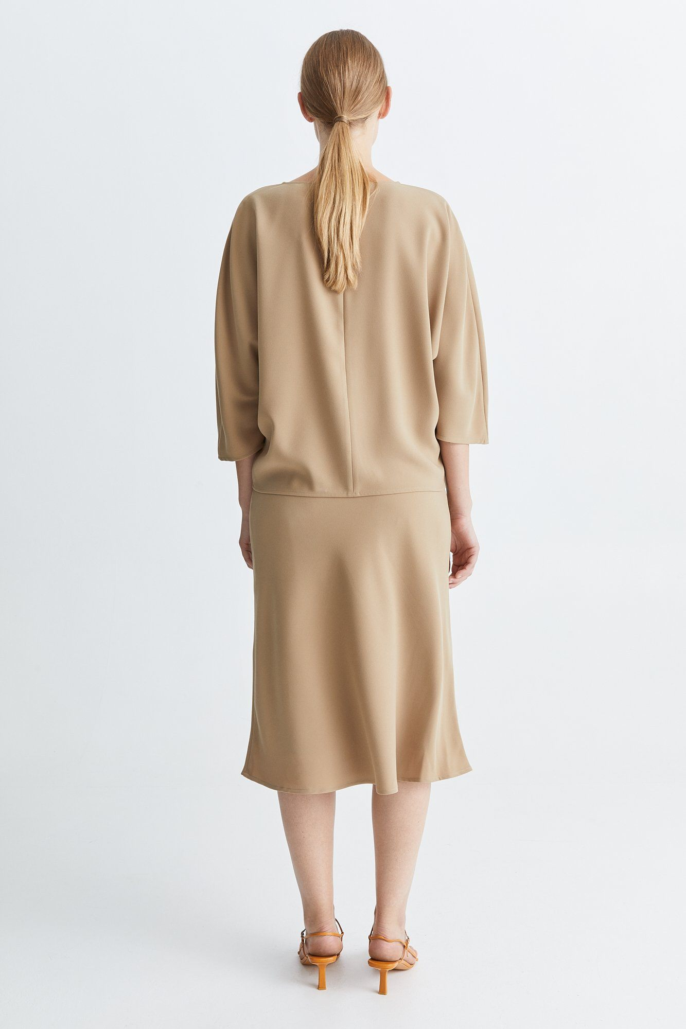 BRIDGE SKIRT - BEIGE Skirt Stylein