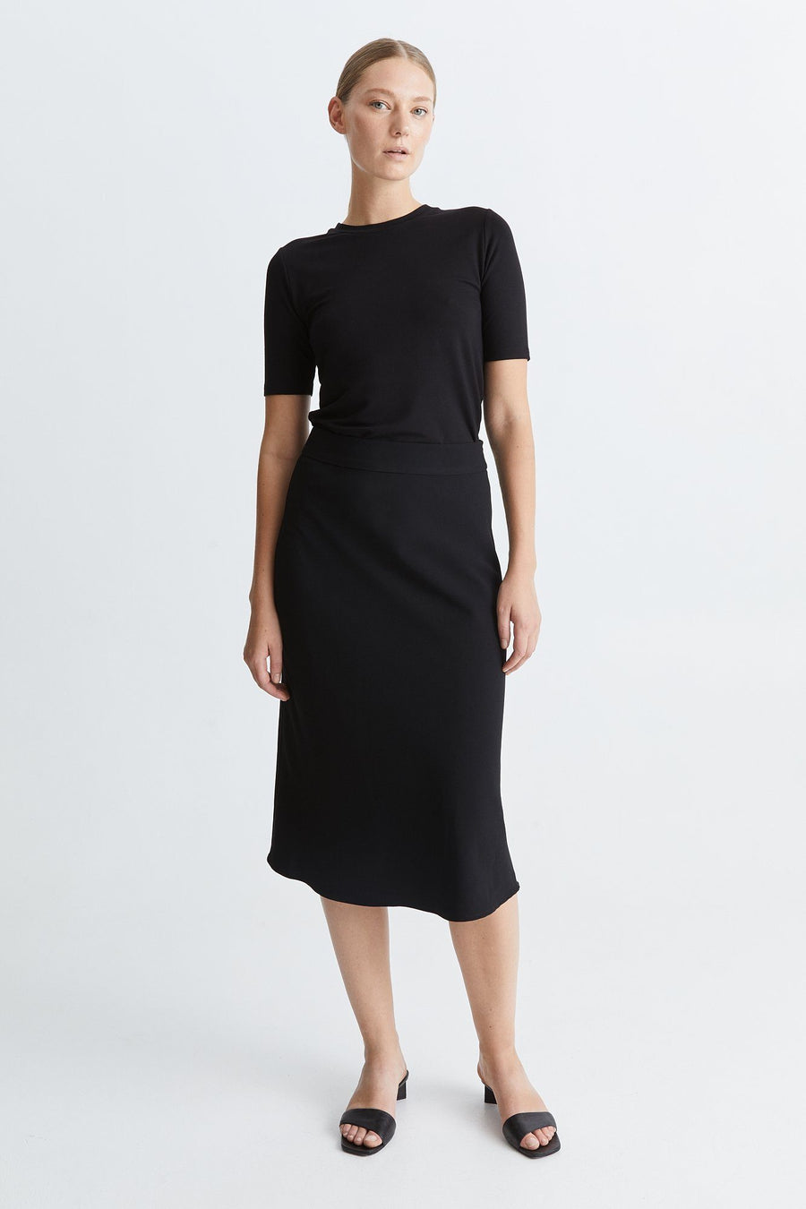 BRIDGE SKIRT - BLACK Skirt Stylein