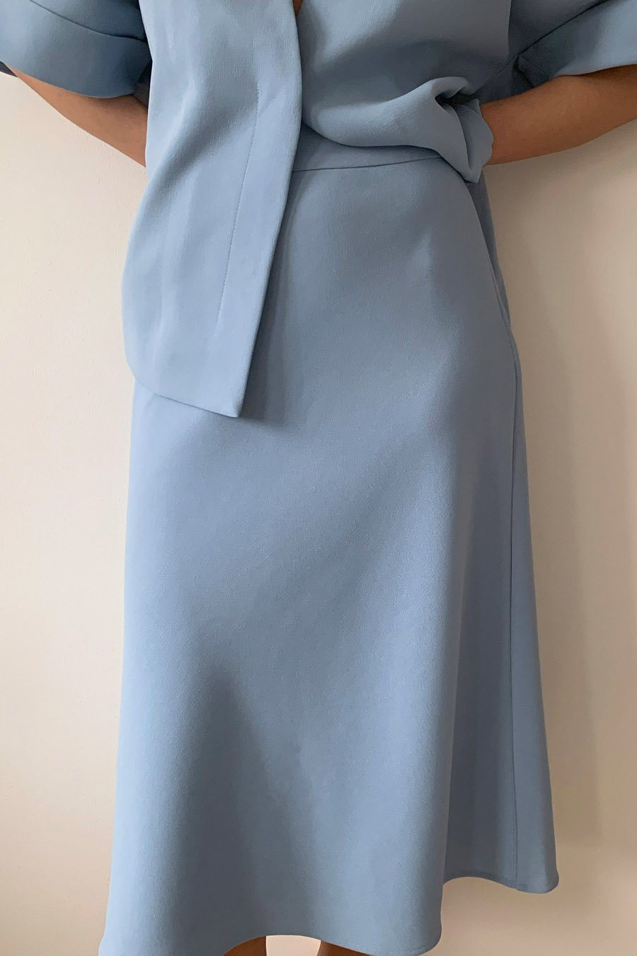 BRIDGE SKIRT - LIGHT BLUE Skirt Stylein