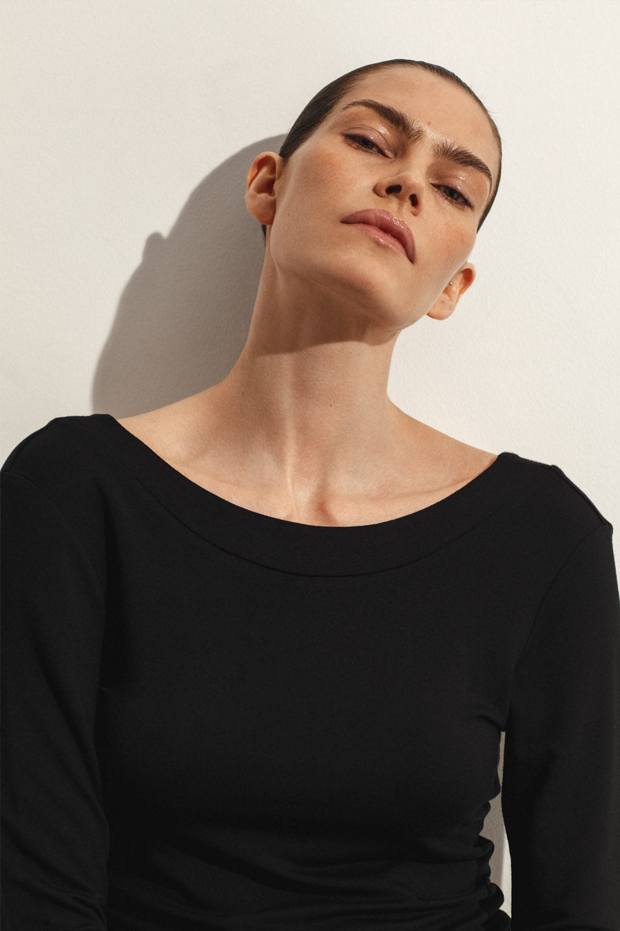 CAEN TOP - BLACK