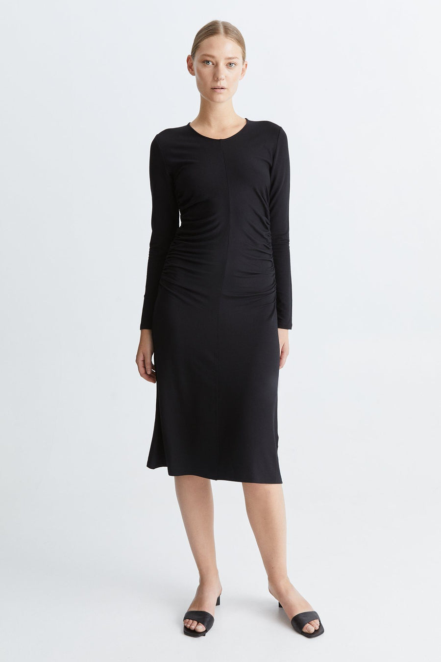 BROLO DRESS - BLACK