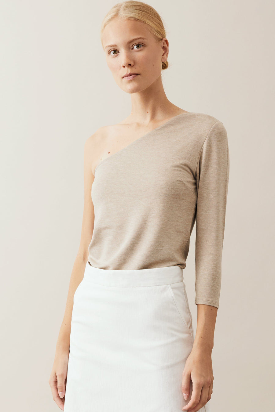 BASSA TOP - CREAM