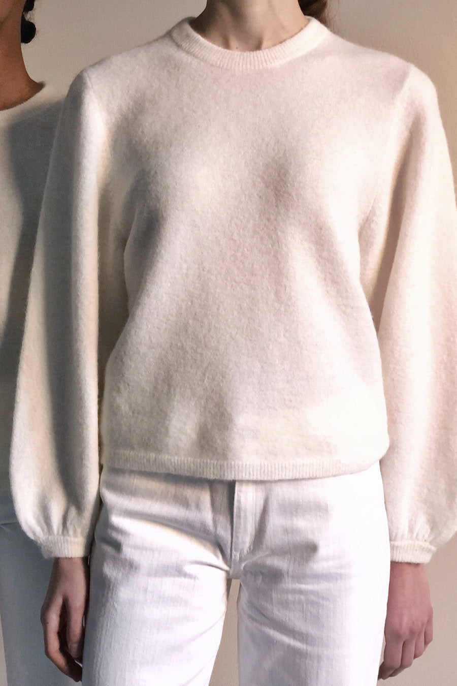 EIJA SWEATER - WHITE
