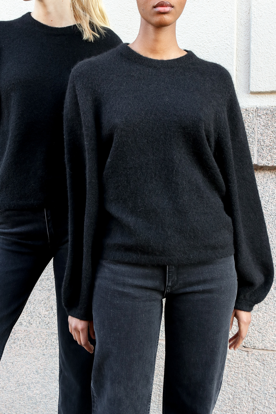 EIJA SWEATER - BLACK