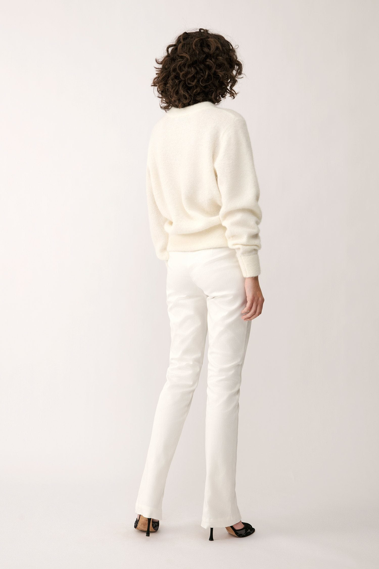 ELLERY SWEATER - WHITE Sweater Stylein