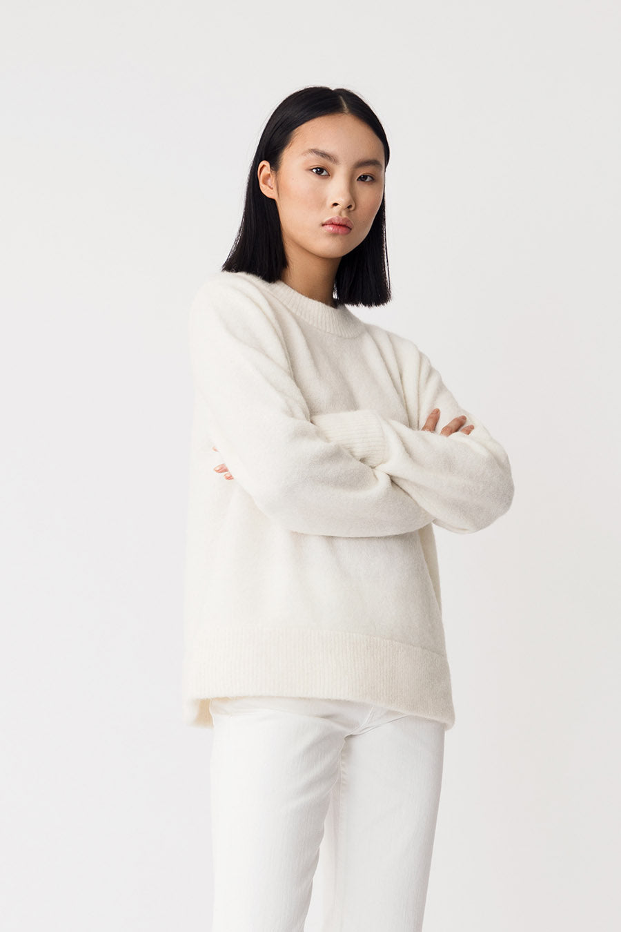 ESSIE SWEATER - WHITE