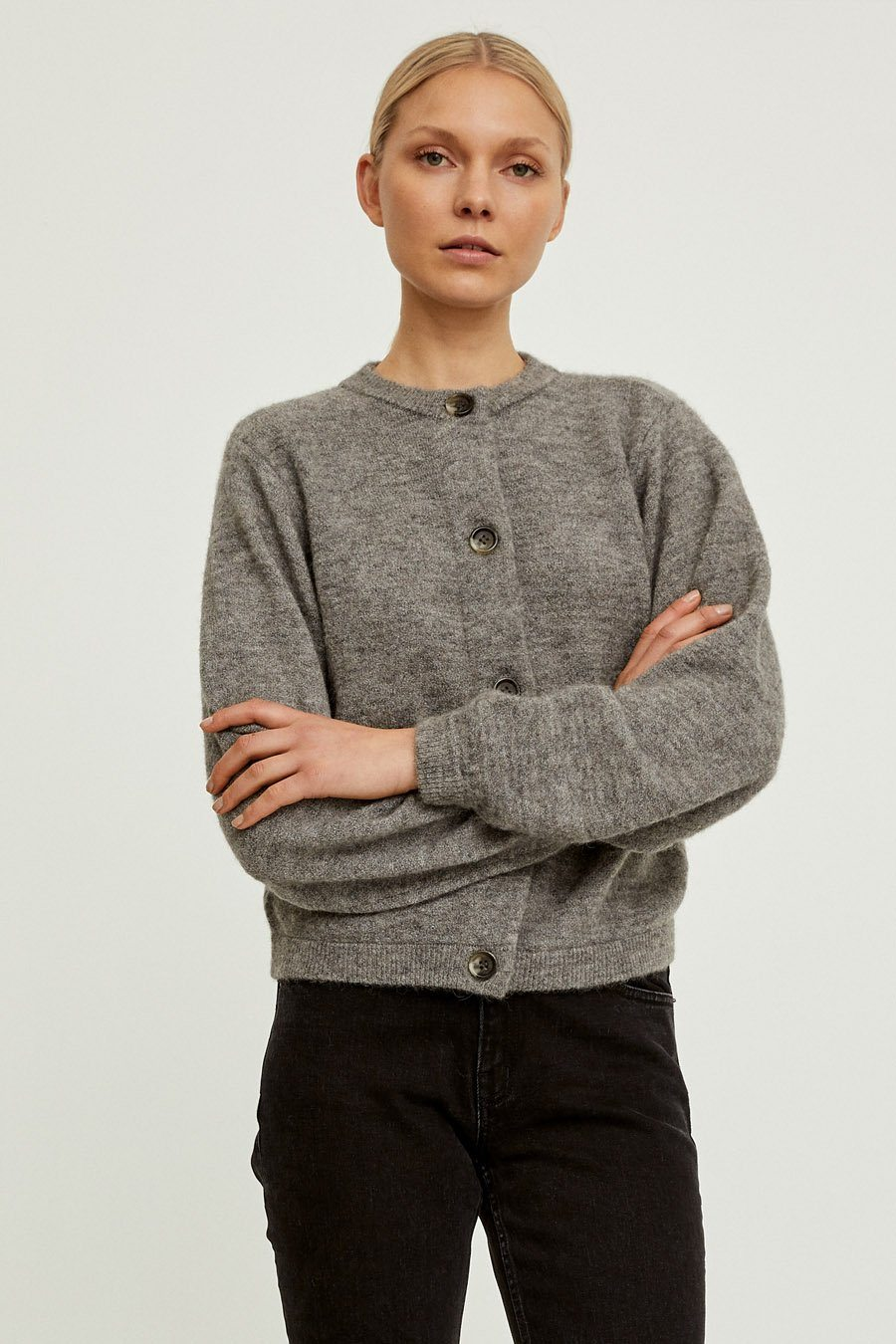 EZIO SWEATER - GREY Sweater Stylein