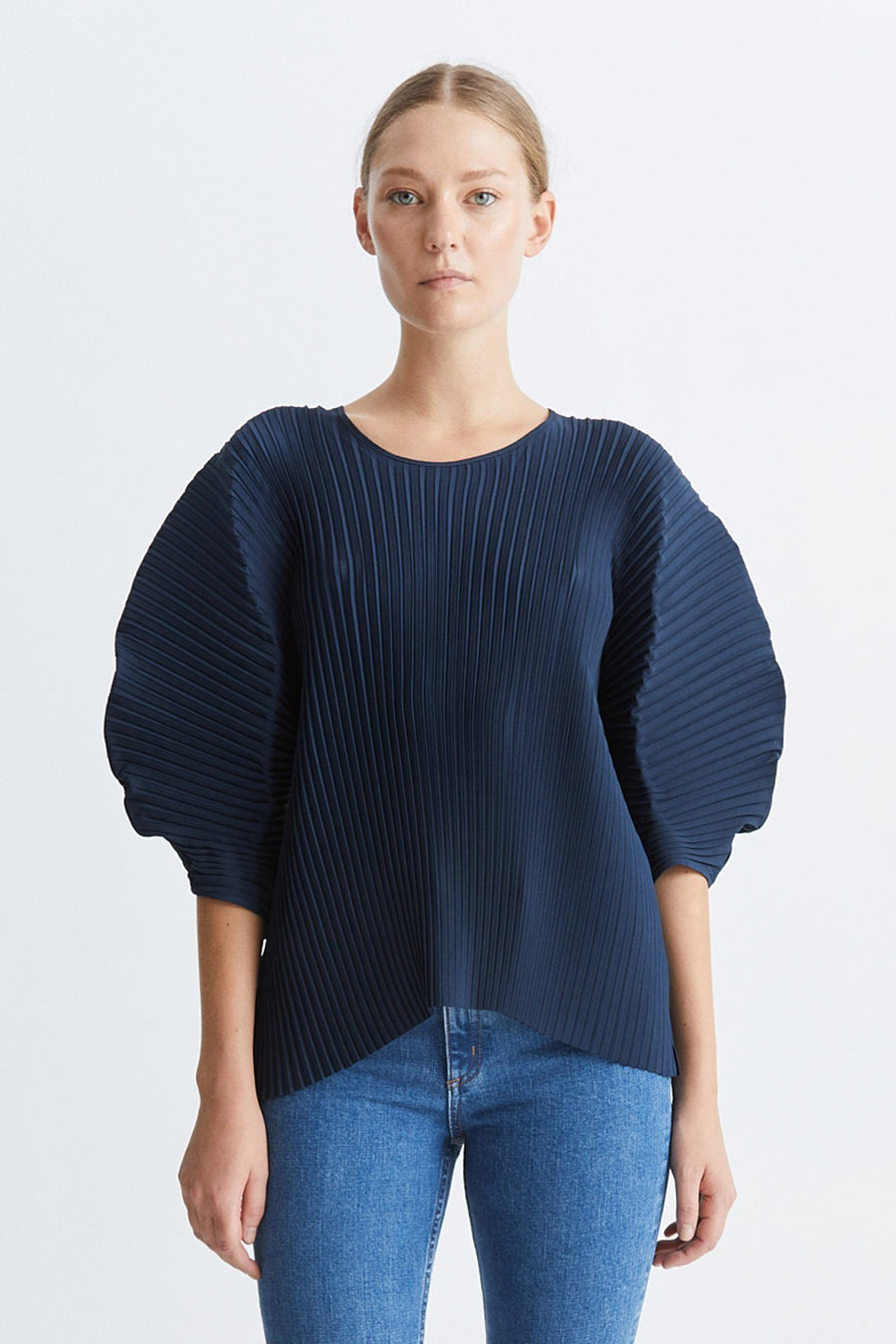 ISE TOP - NAVY Top Stylein