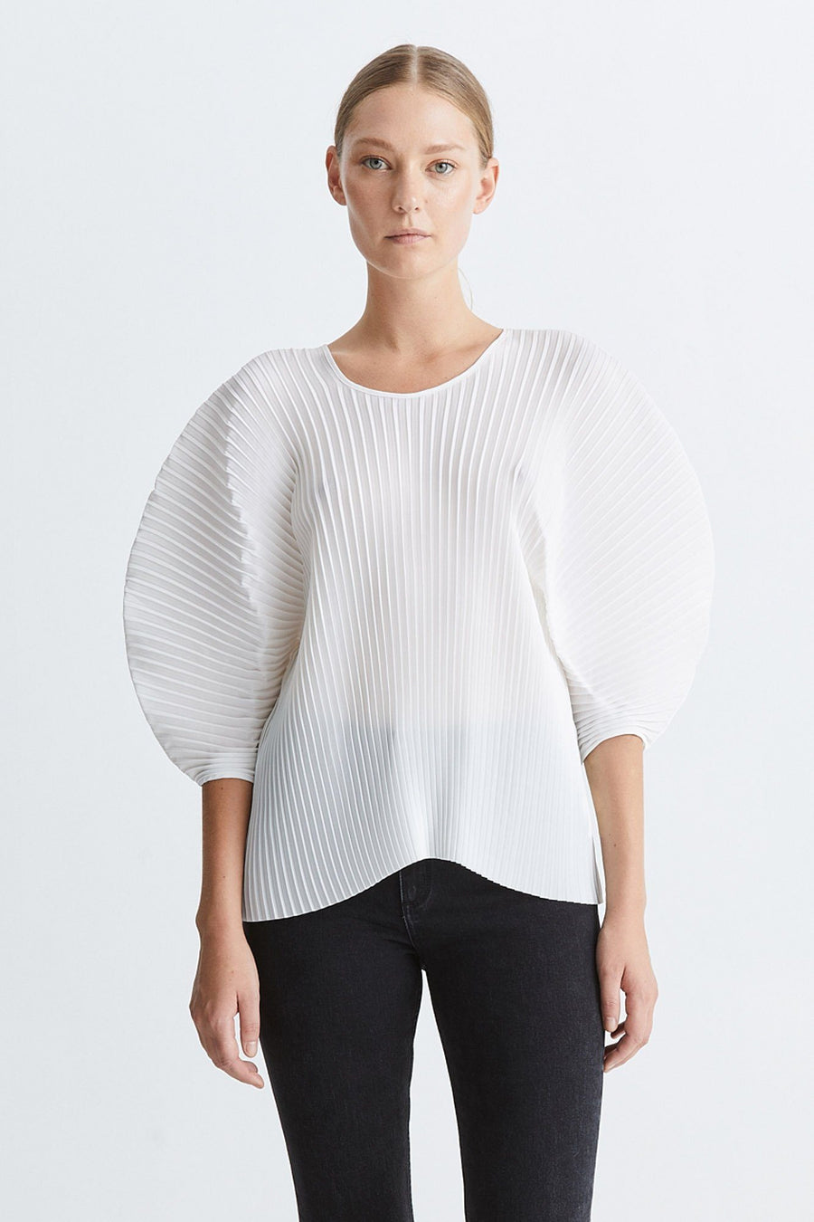 ISE TOP - WHITE Top Stylein