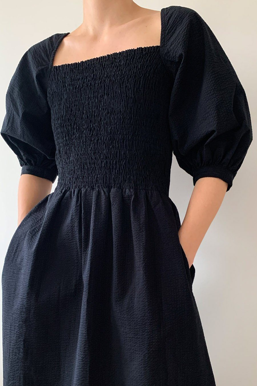 JACINTHA DRESS - BLACK Dress Stylein