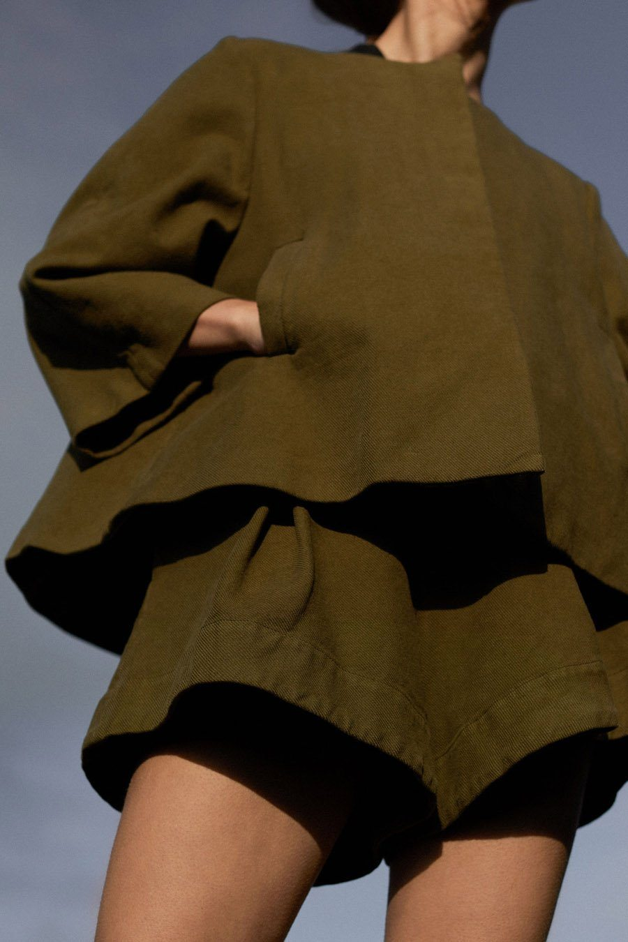 KAISA JACKET - ARMY GREEN Jacket Stylein