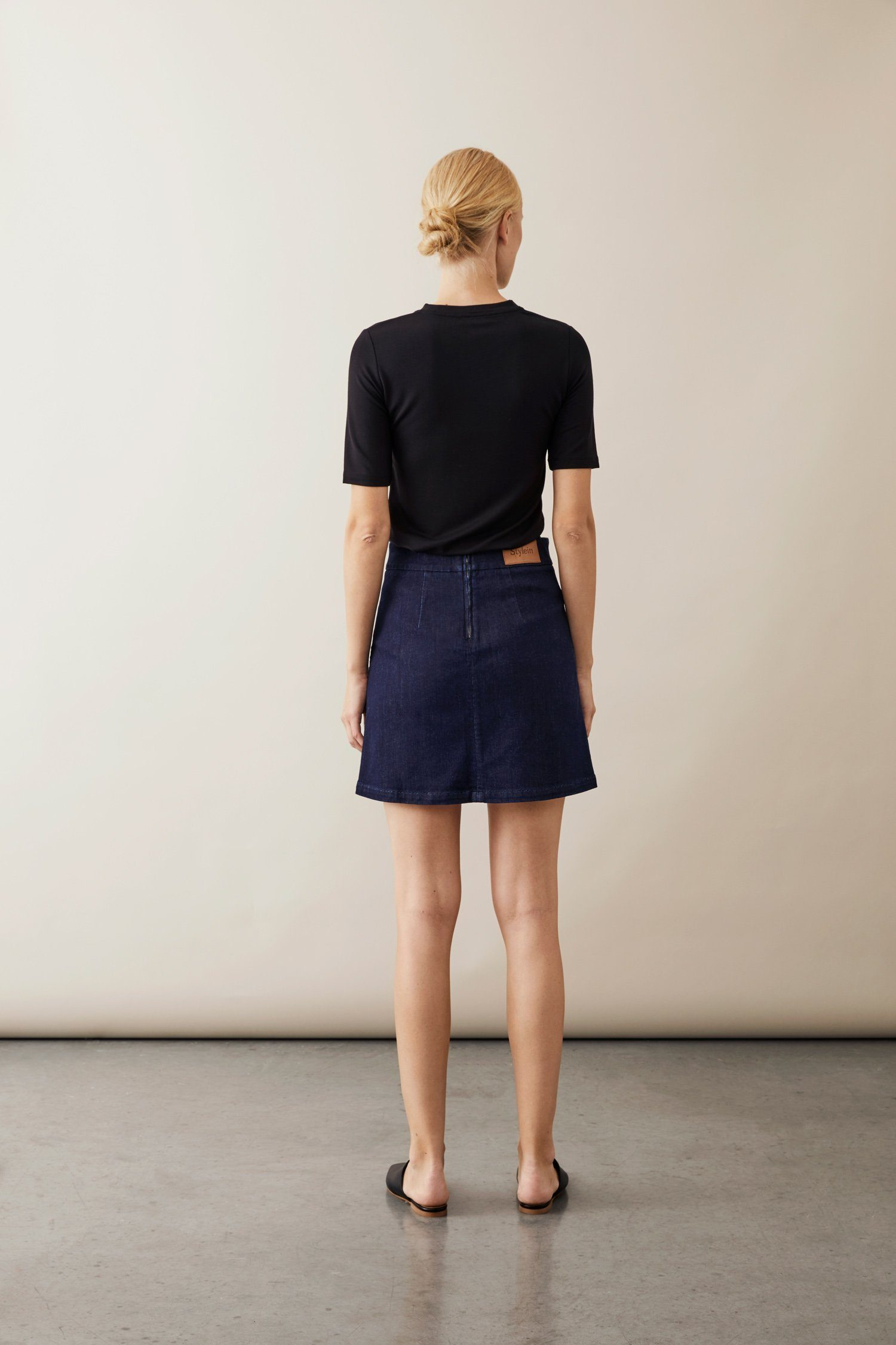 KAMI SKIRT- DENIM BLUE Skirt Stylein