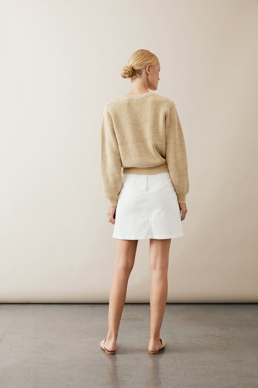 KAMI SKIRT - OFF WHITE Skirt Stylein