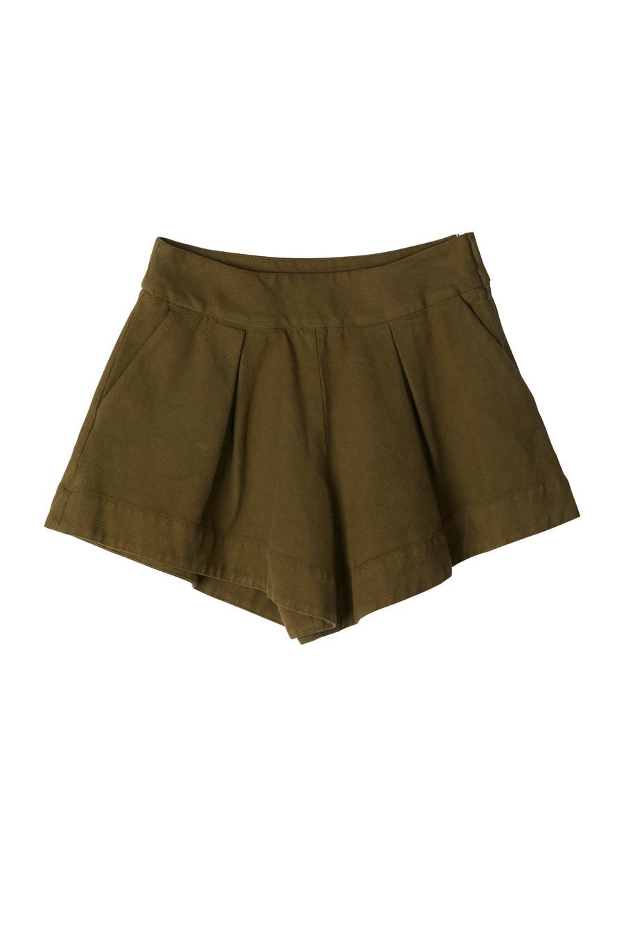 KYRIA SHORTS - ARMY GREEN Shorts Stylein