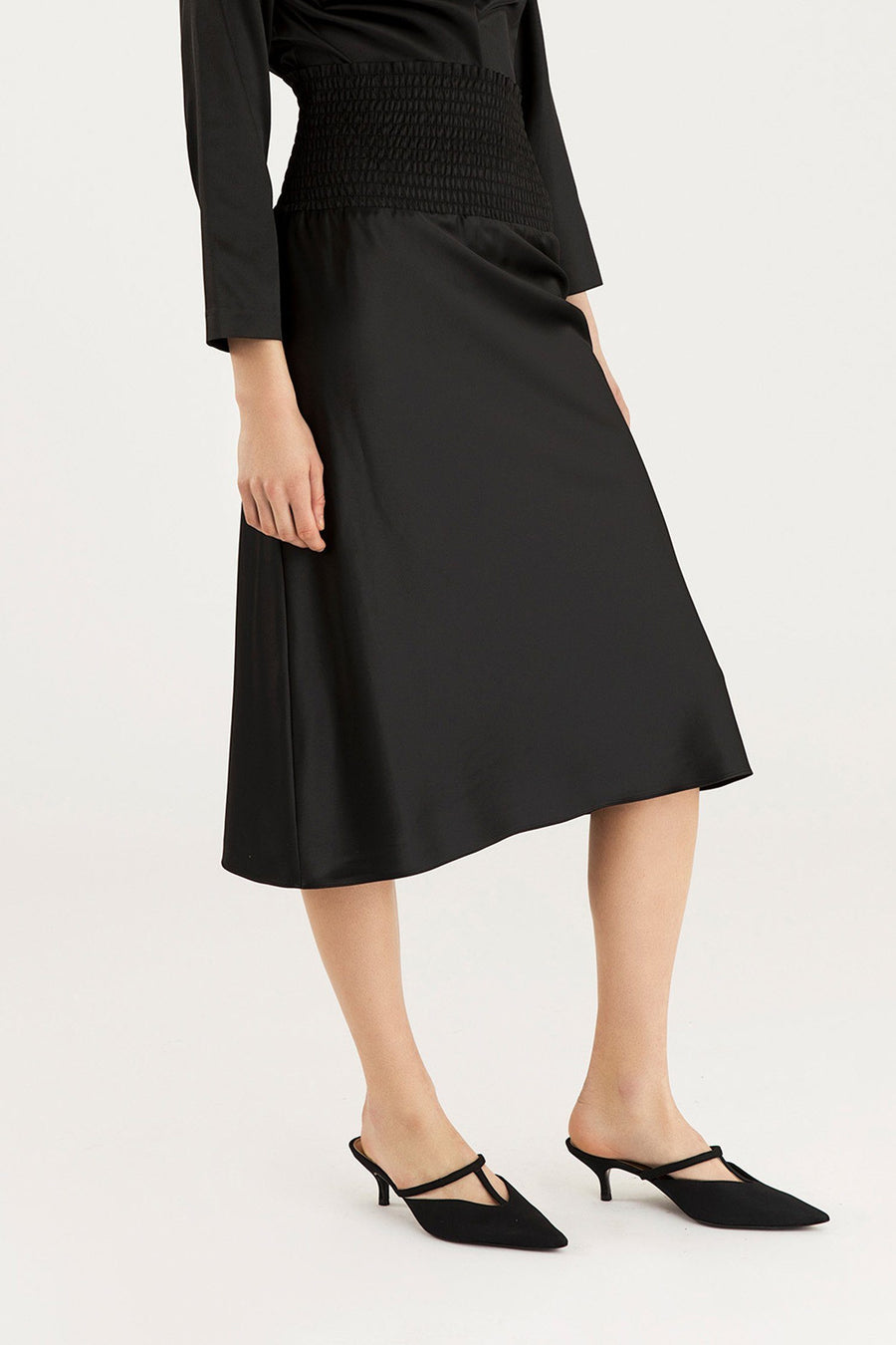 VERNA SKIRT - BLACK