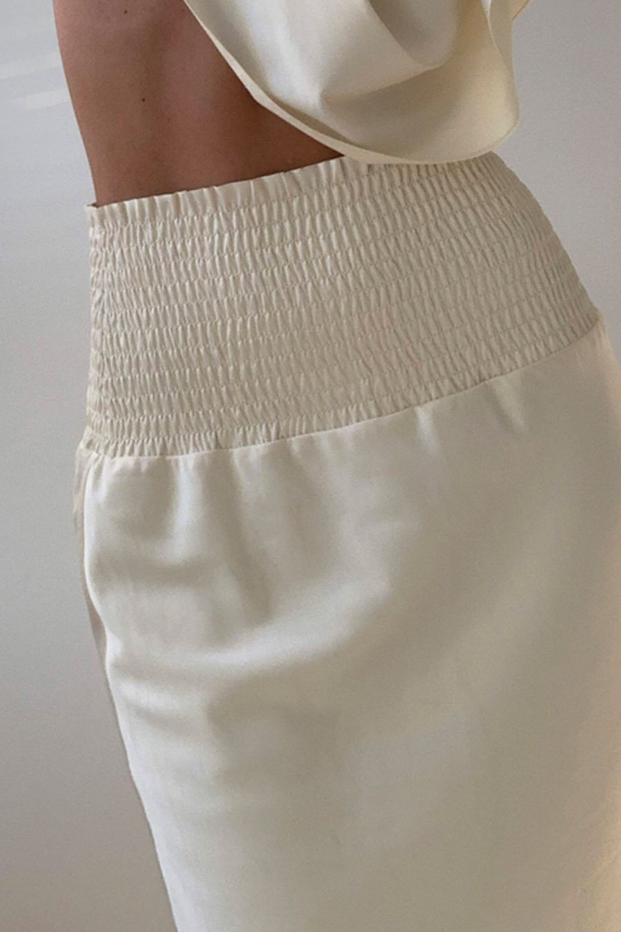 MARION SKIRT - OFF WHITE Skirt Stylein