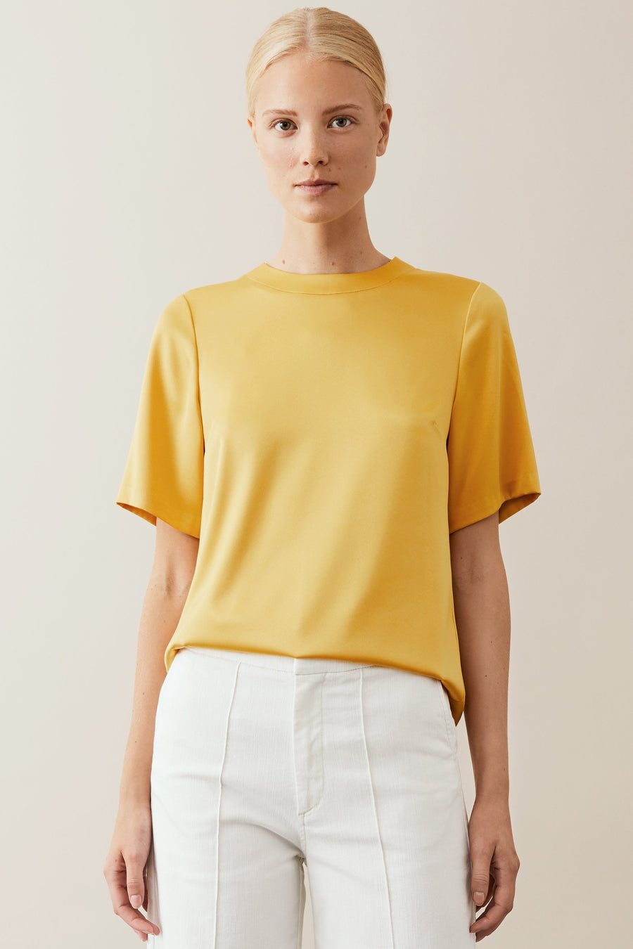 MATCHA TOP - YELLOW Top Stylein