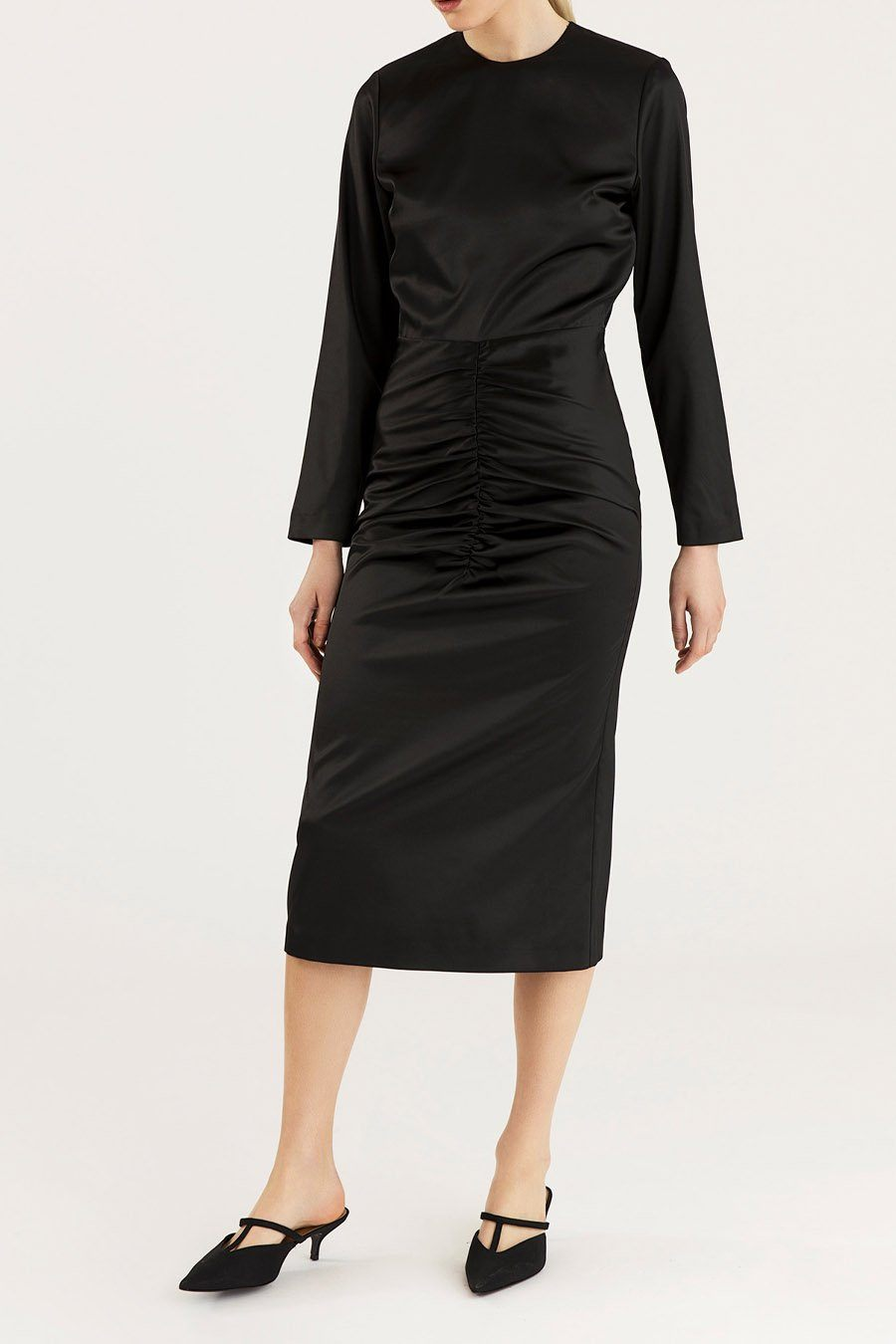 MELANIE DRESS - BLACK Dress Stylein