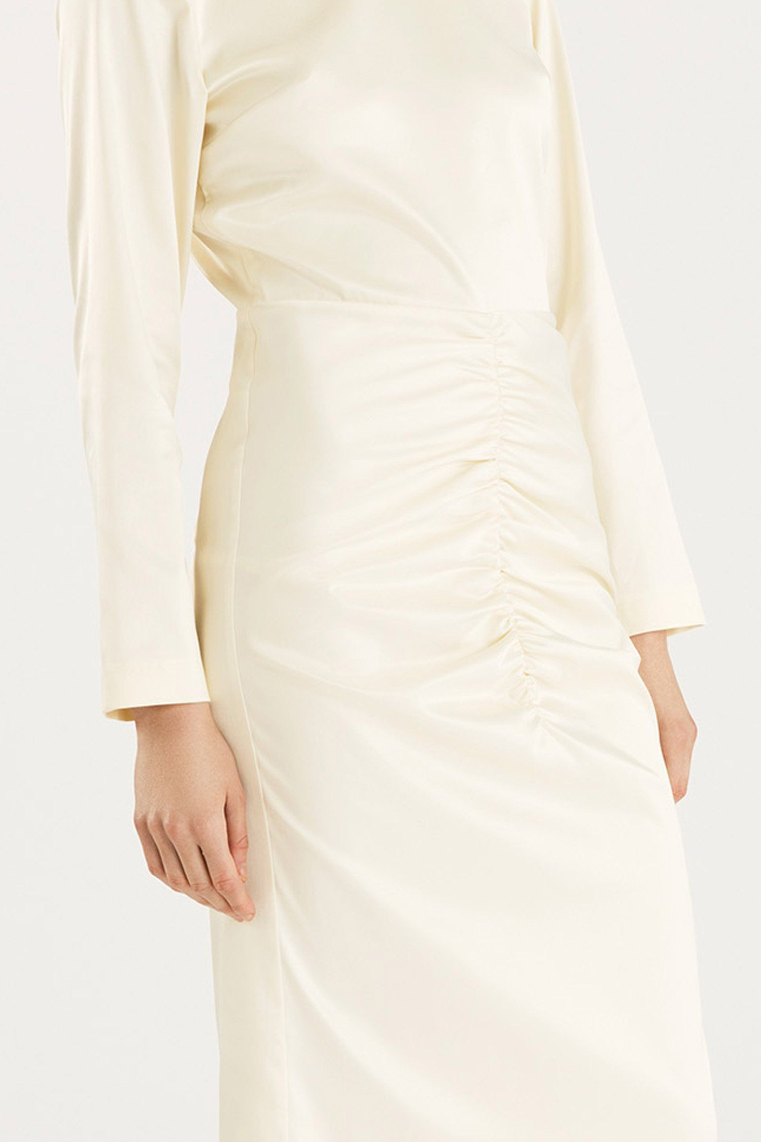 MELANIE DRESS - OFF WHITE Dress Stylein