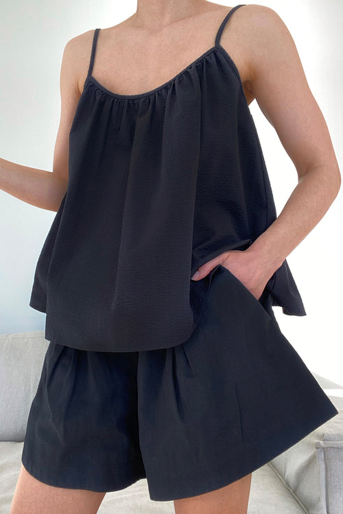 METZ TOP - BLACK
