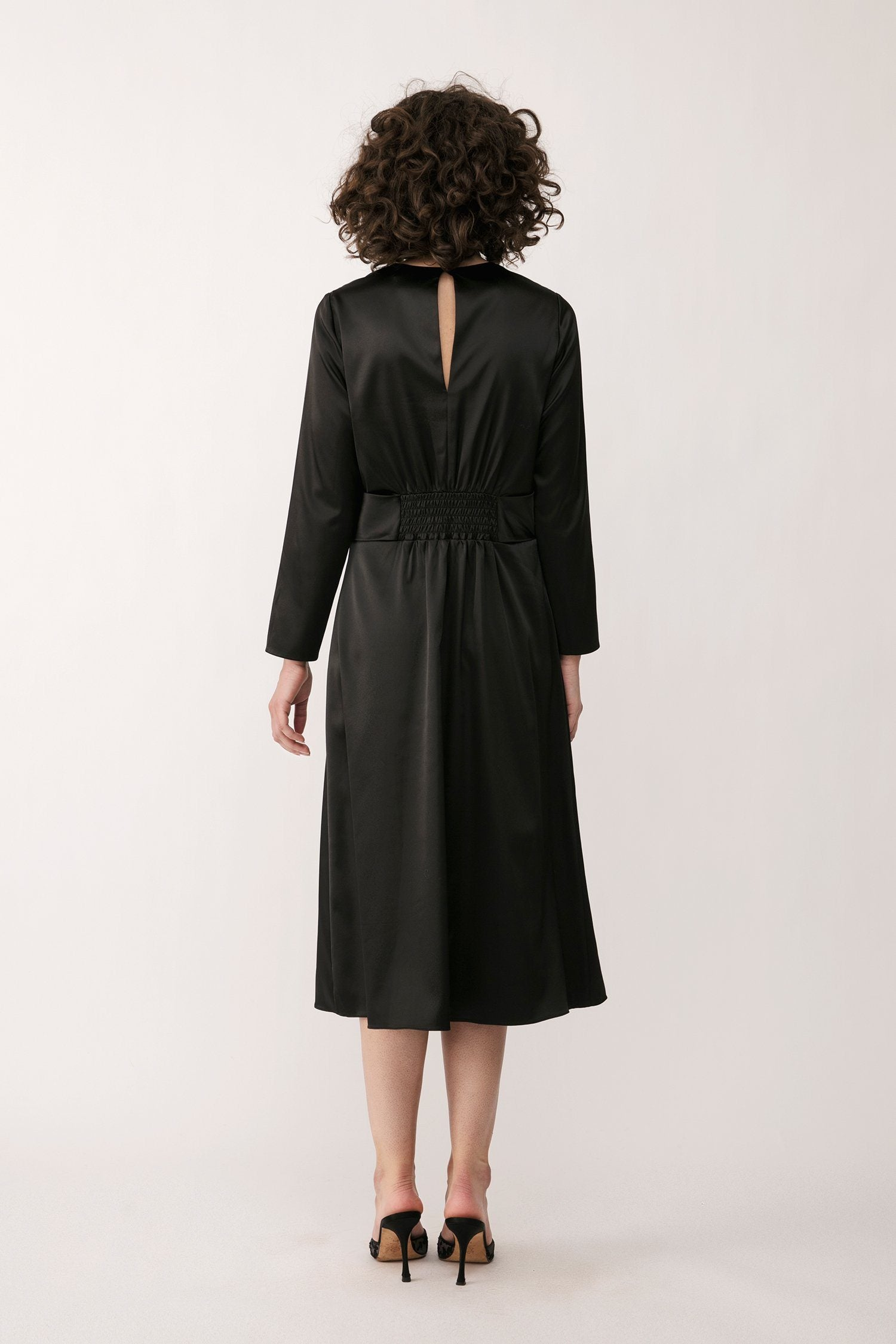 MILANO DRESS - BLACK Dress Stylein