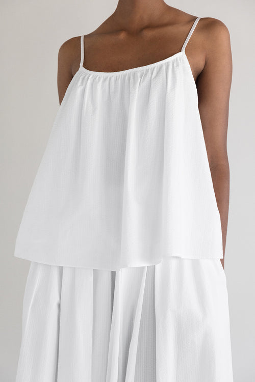 METZ TOP - WHITE