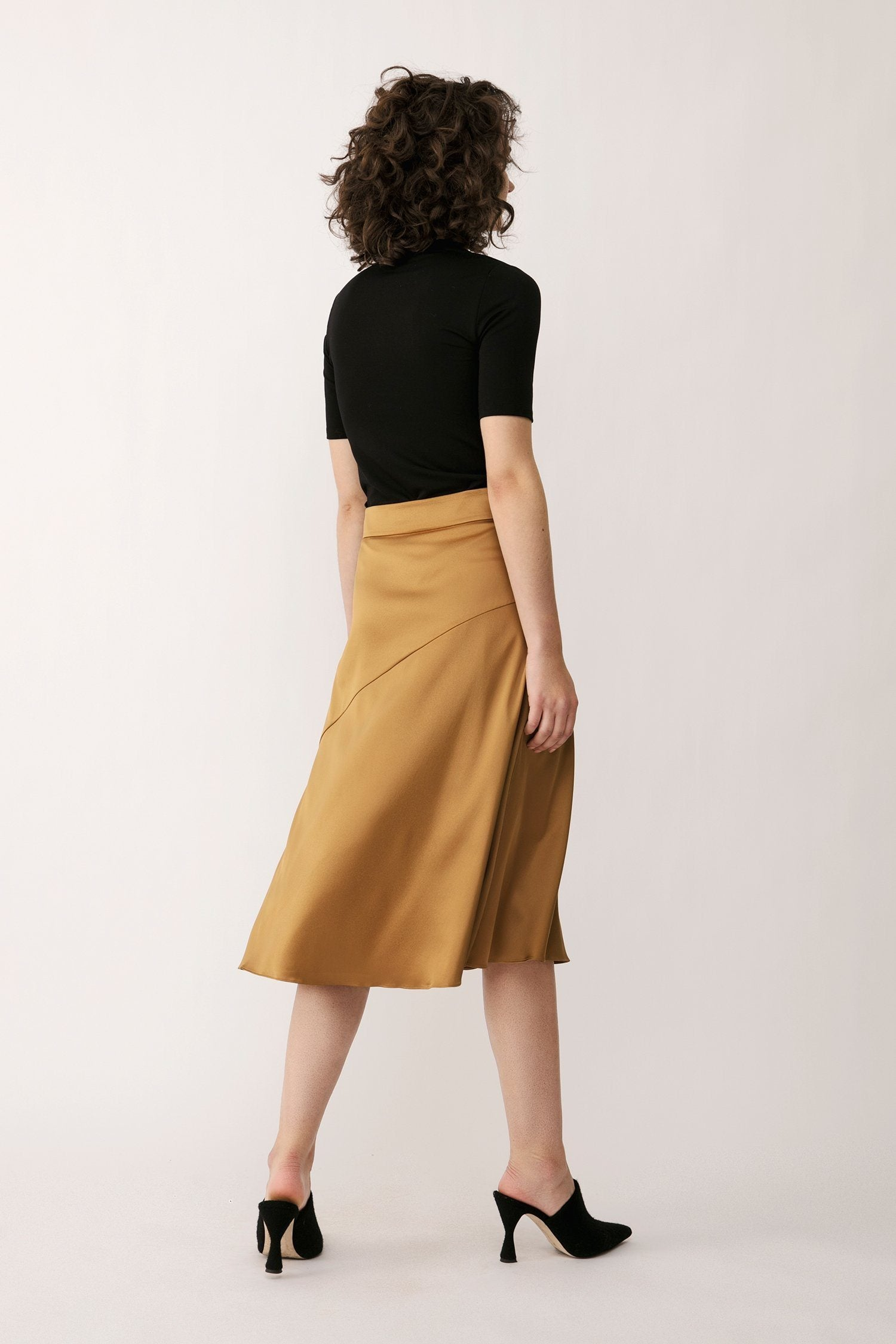 MONA SKIRT - BRONZE ONLINE EXCLUSIVE Skirt Stylein