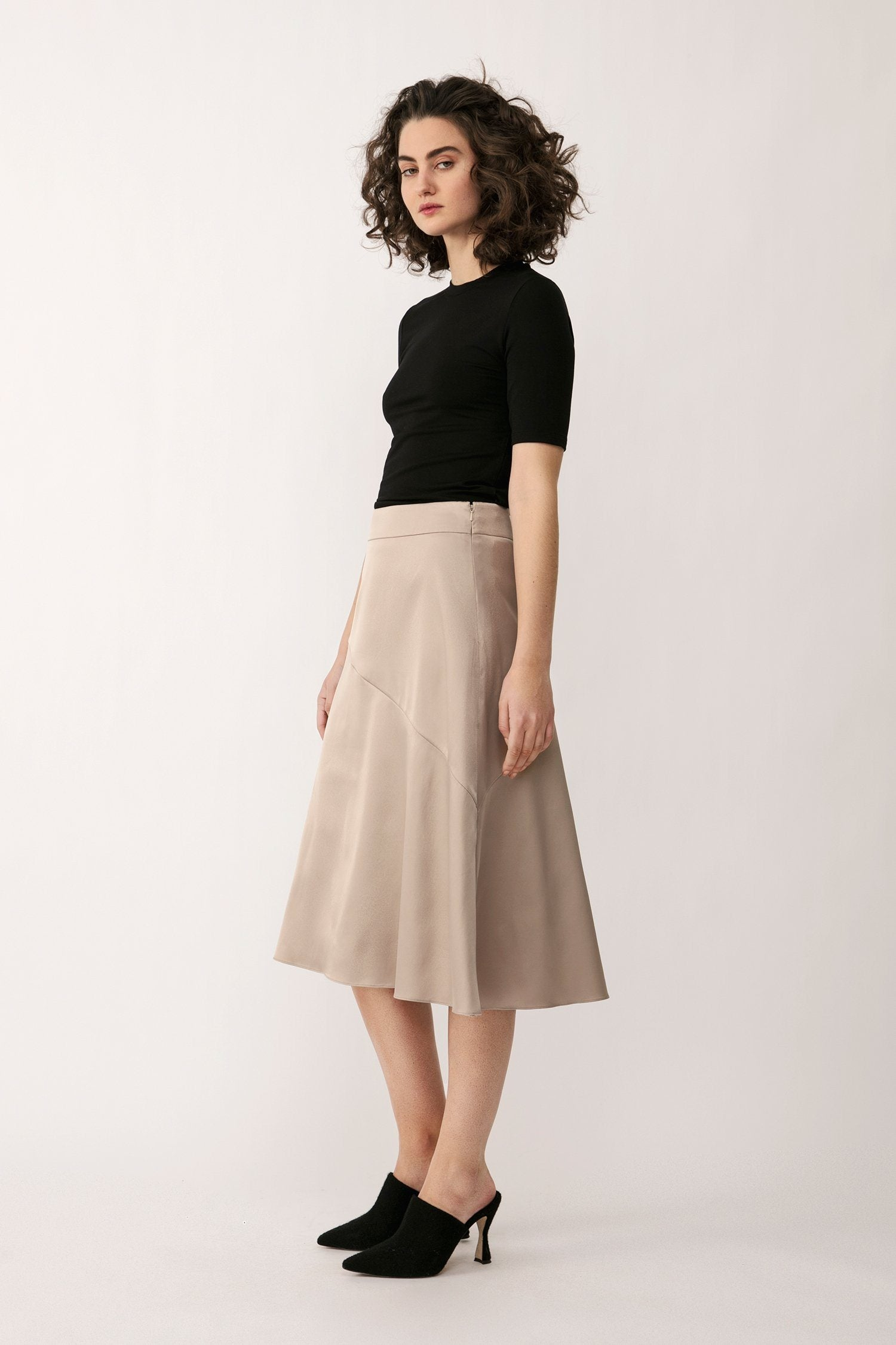 MONA SKIRT - OYSTER ONLINE EXCLUSIVE Skirt Stylein