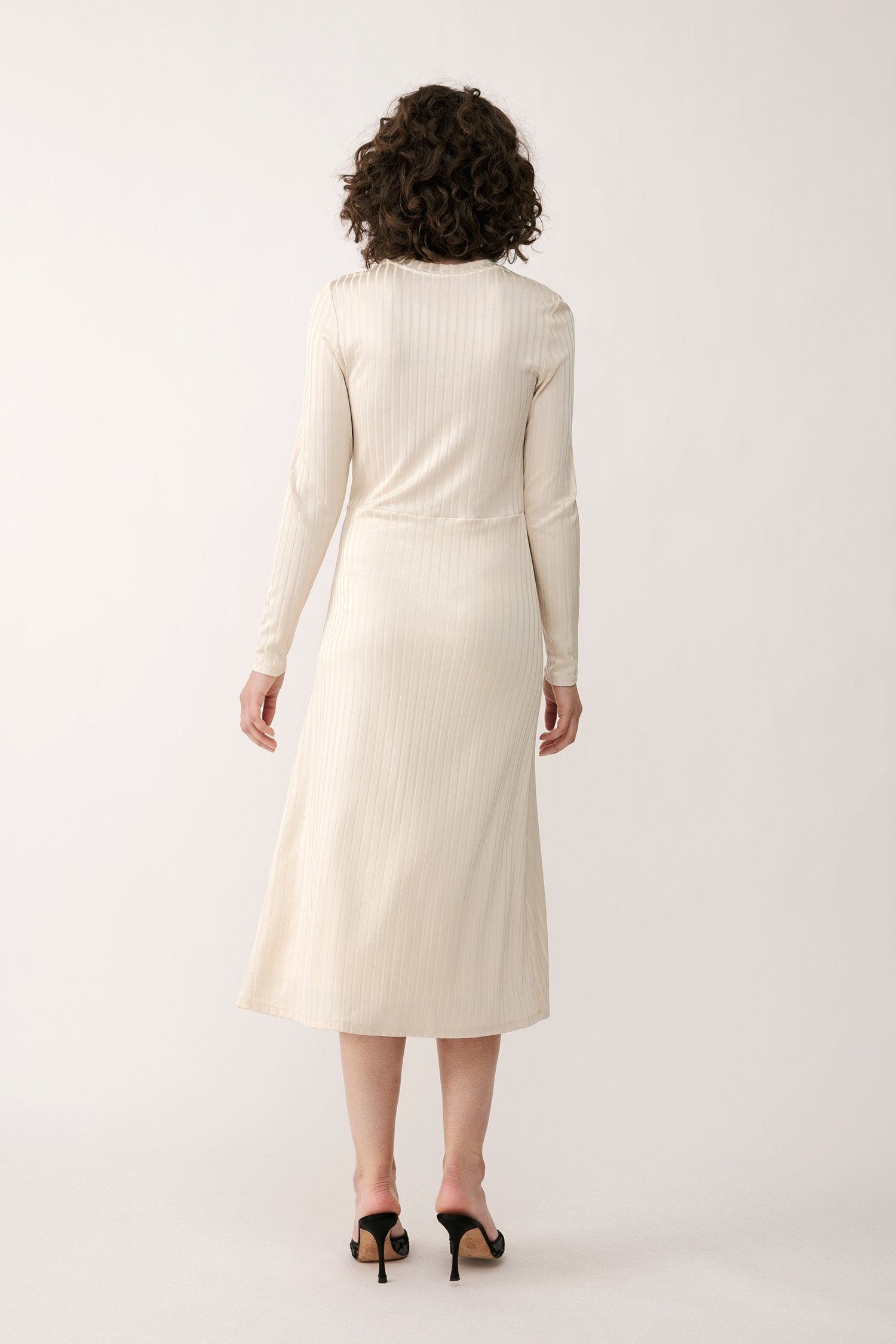 PALAZZO DRESS - CREAM Dress Stylein