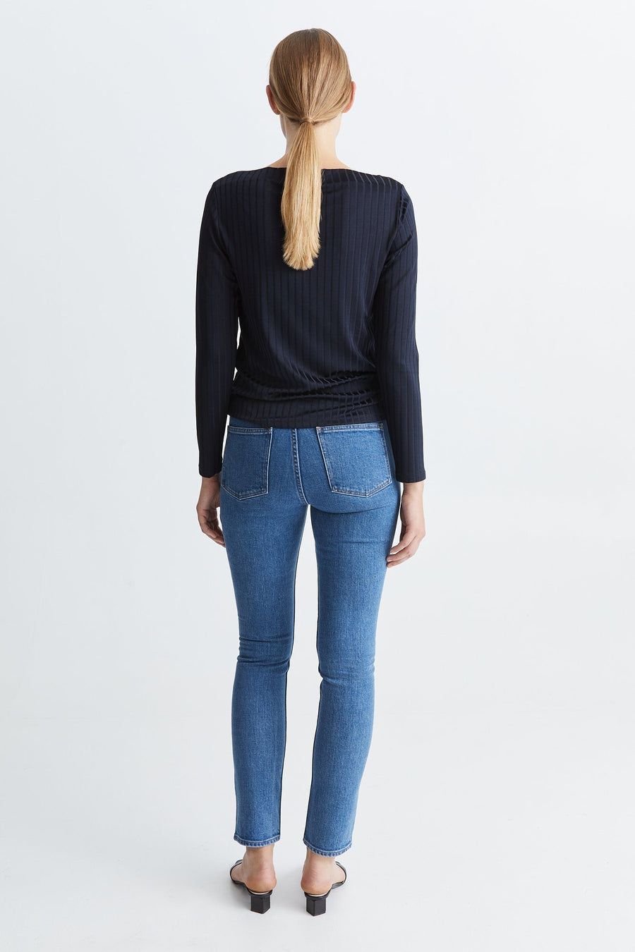 PENNY TOP - NAVY Top Stylein