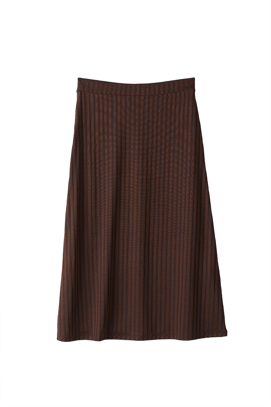 PHILLY SKIRT - DARK BROWN
