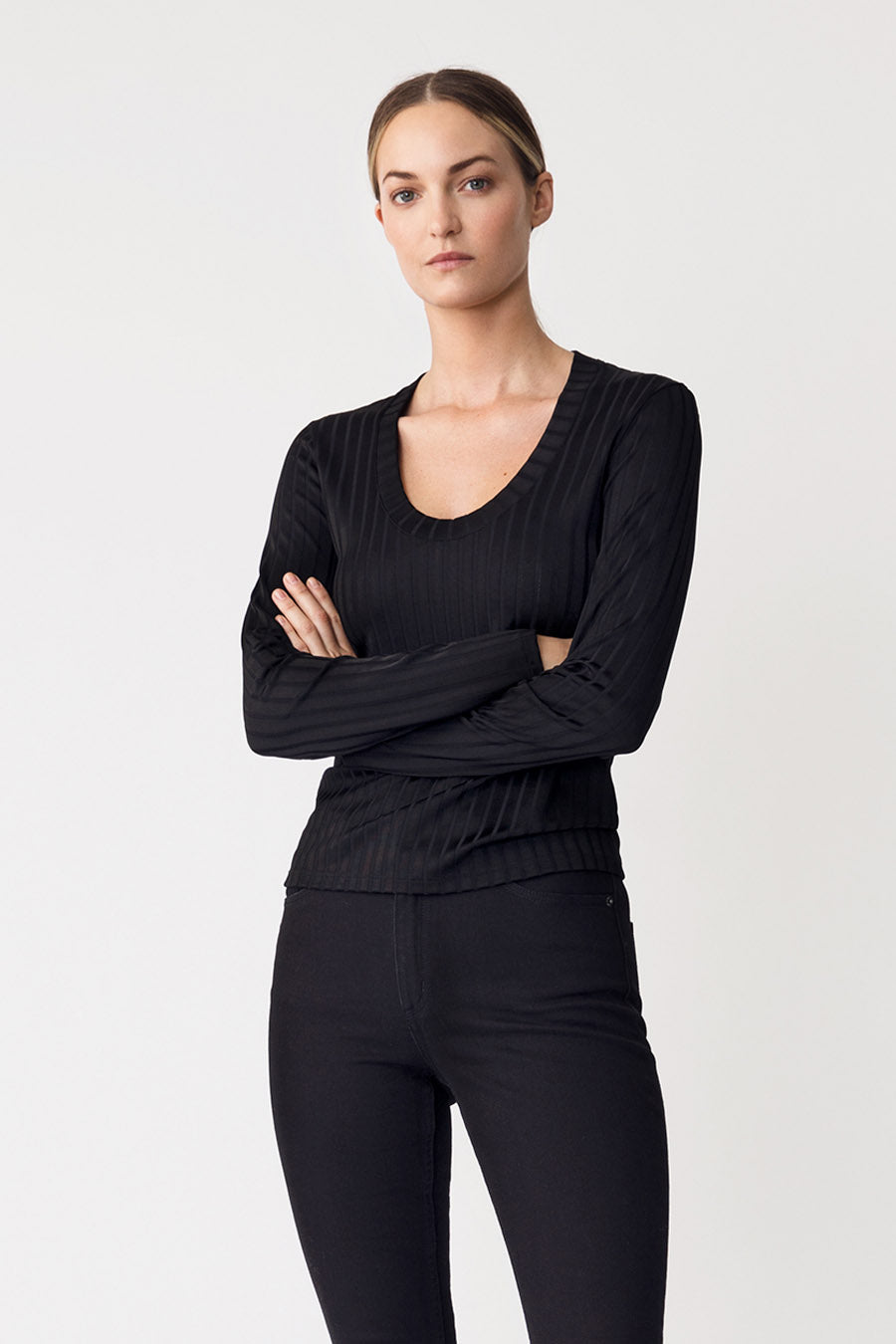PETRONELLA TOP - BLACK