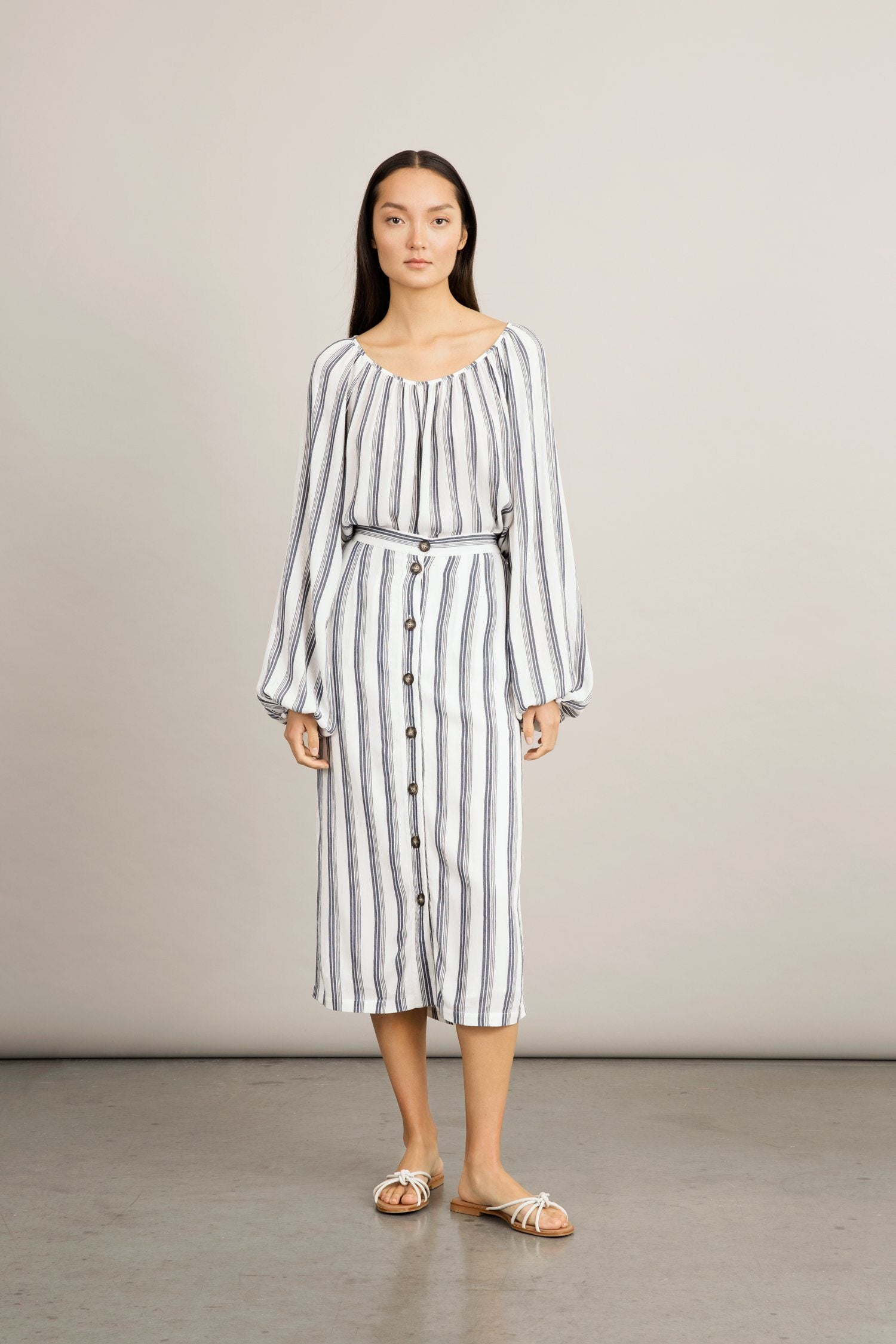 SANSIRA SKIRT - STRIPED Skirt Stylein