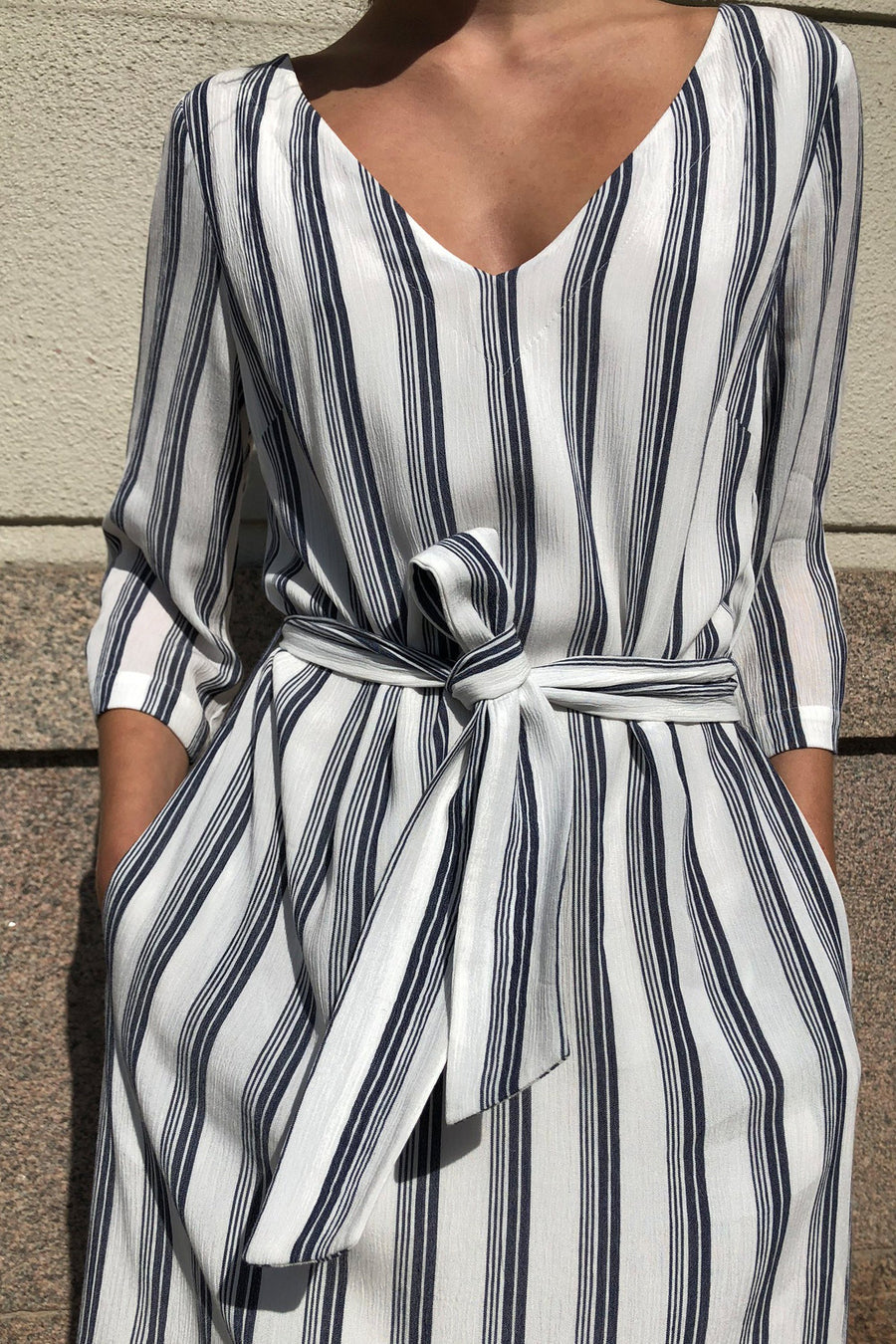 SENNA DRESS - STRIPED Dress Stylein