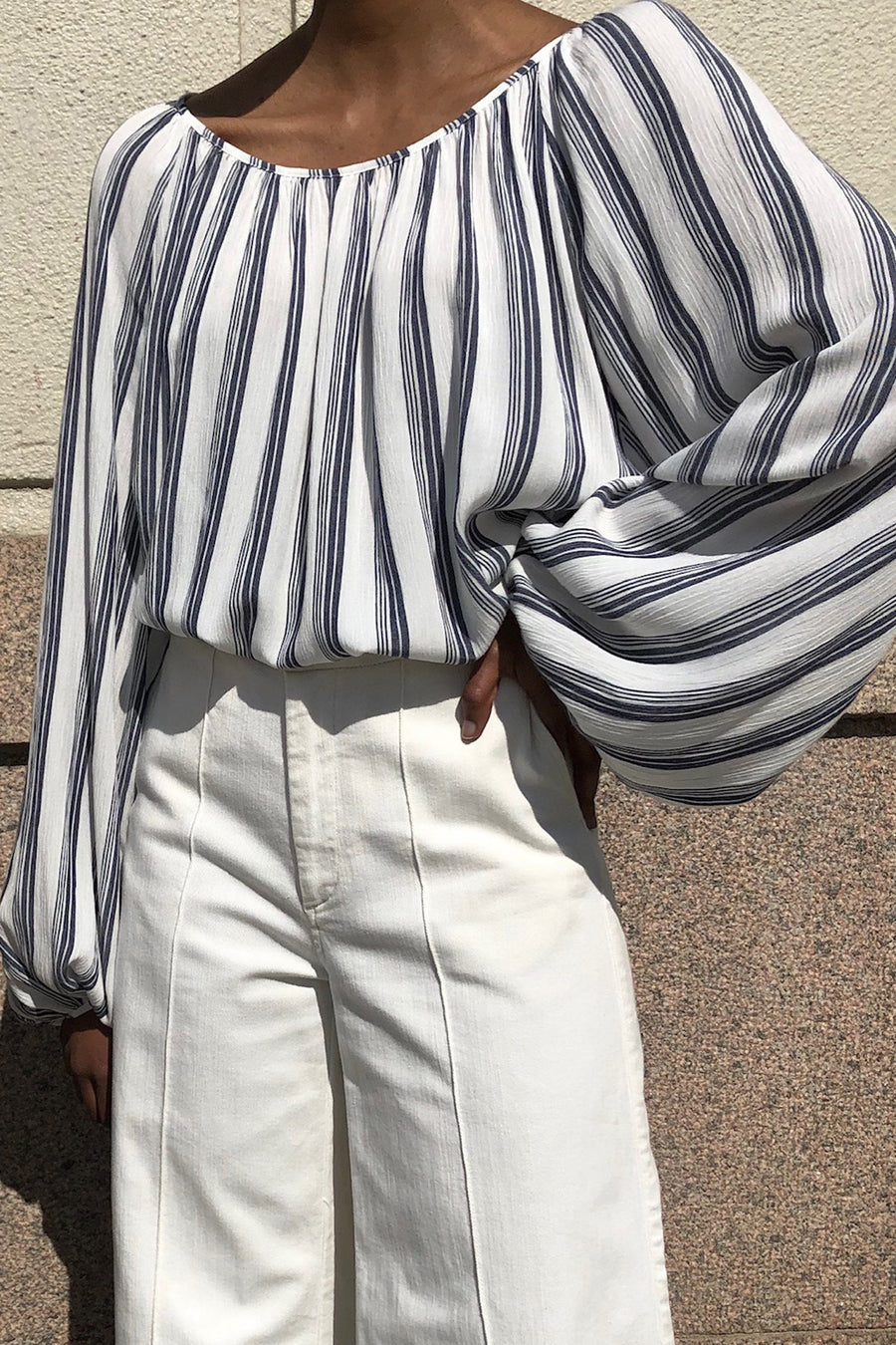 STADERA TOP - STRIPED Top Stylein