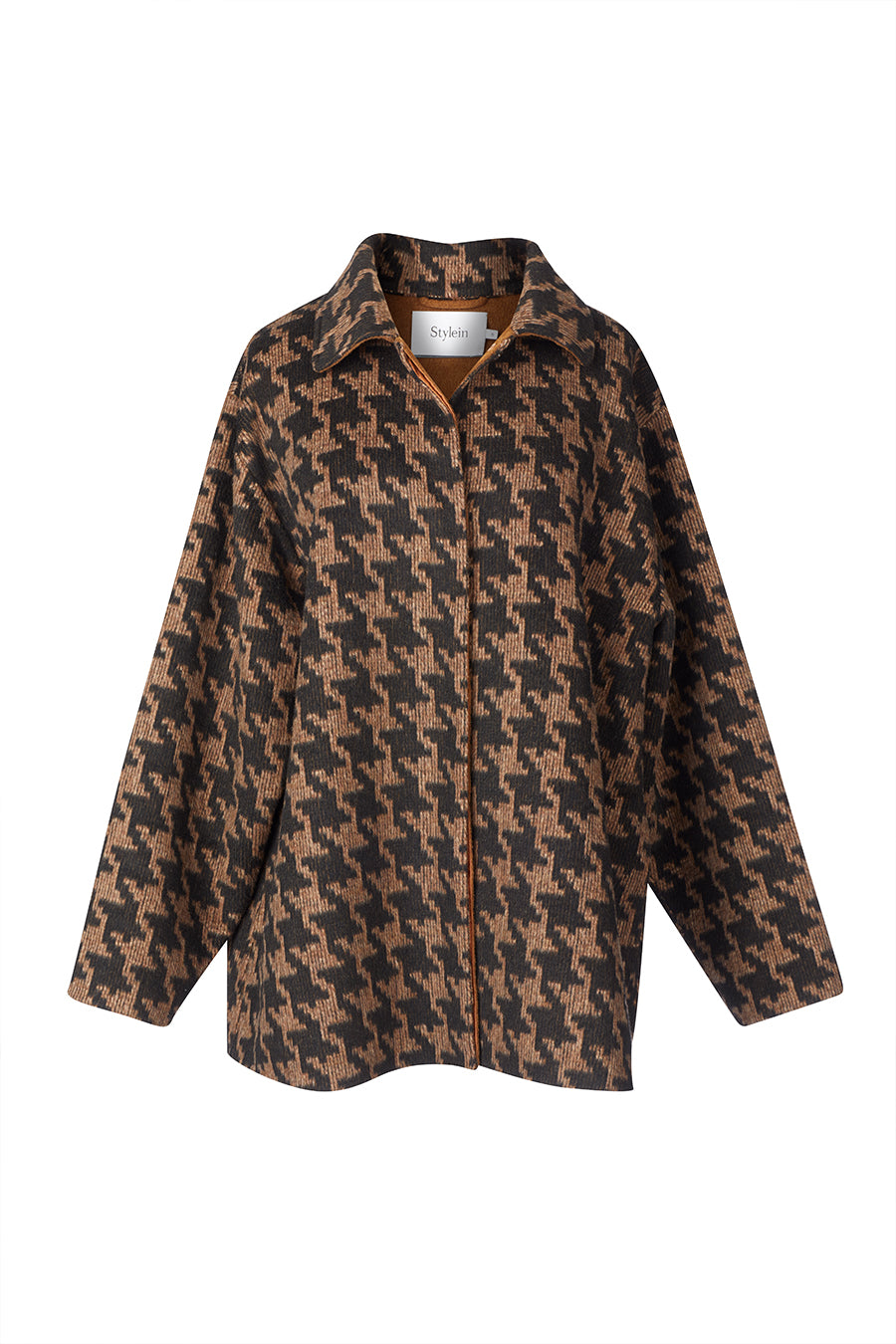 TAPIO JACKET - BROWN PEPITA