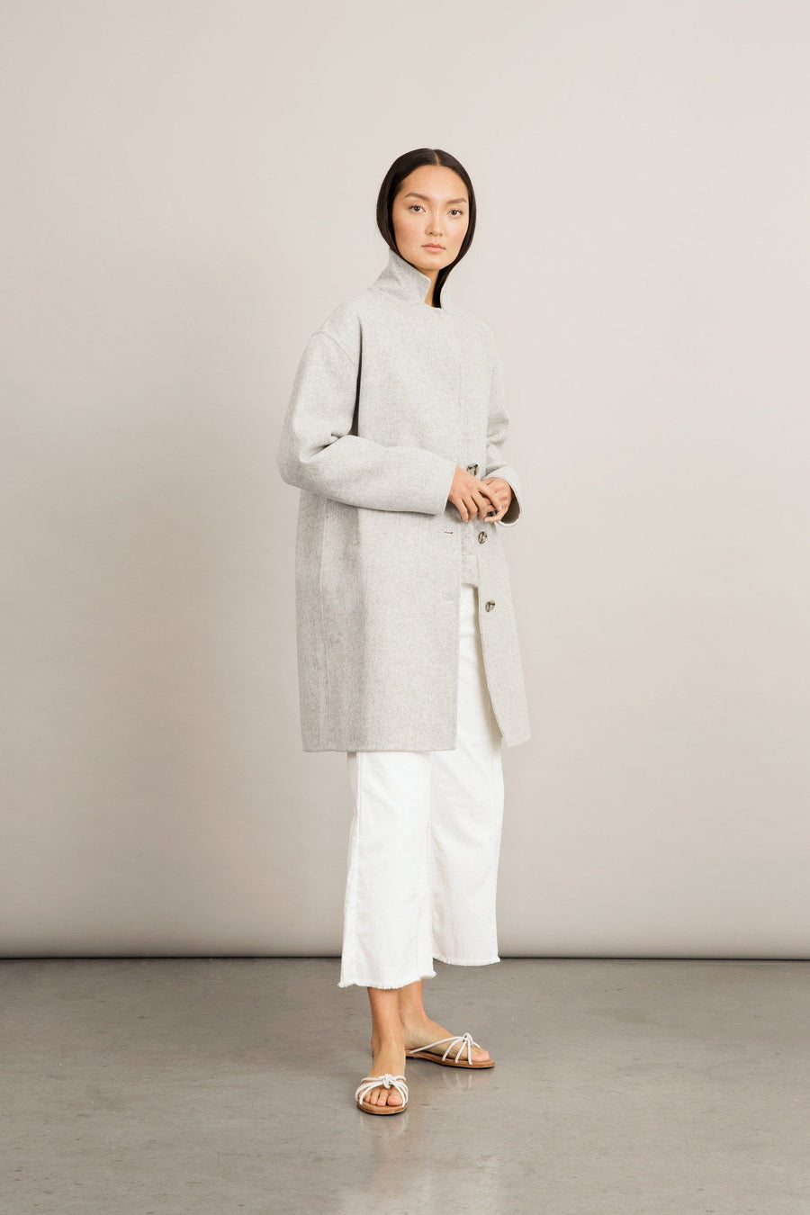 TESSA JACKET - LIGHT GREY Jacket Stylein
