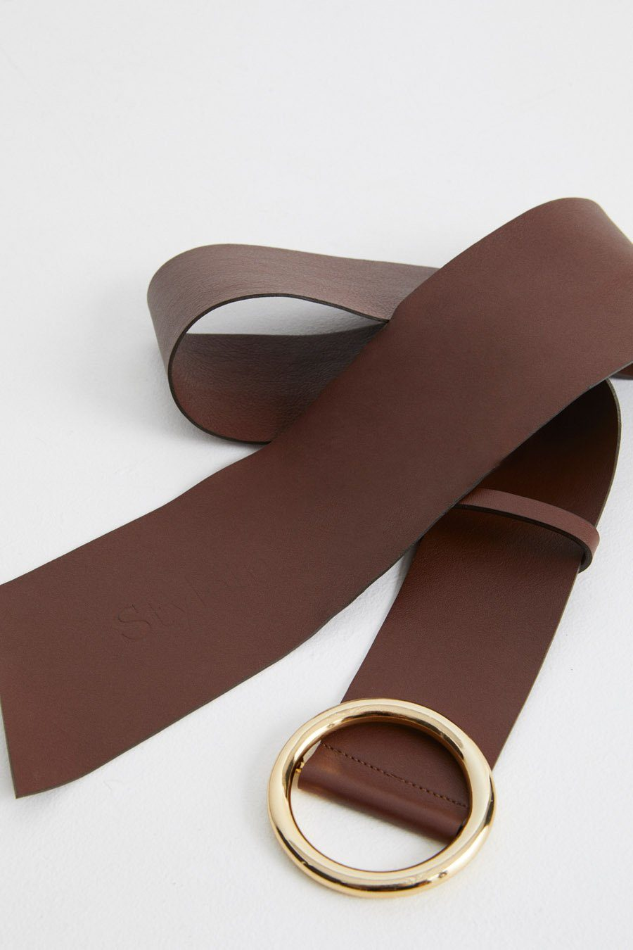 VIONA BELT - BROWN