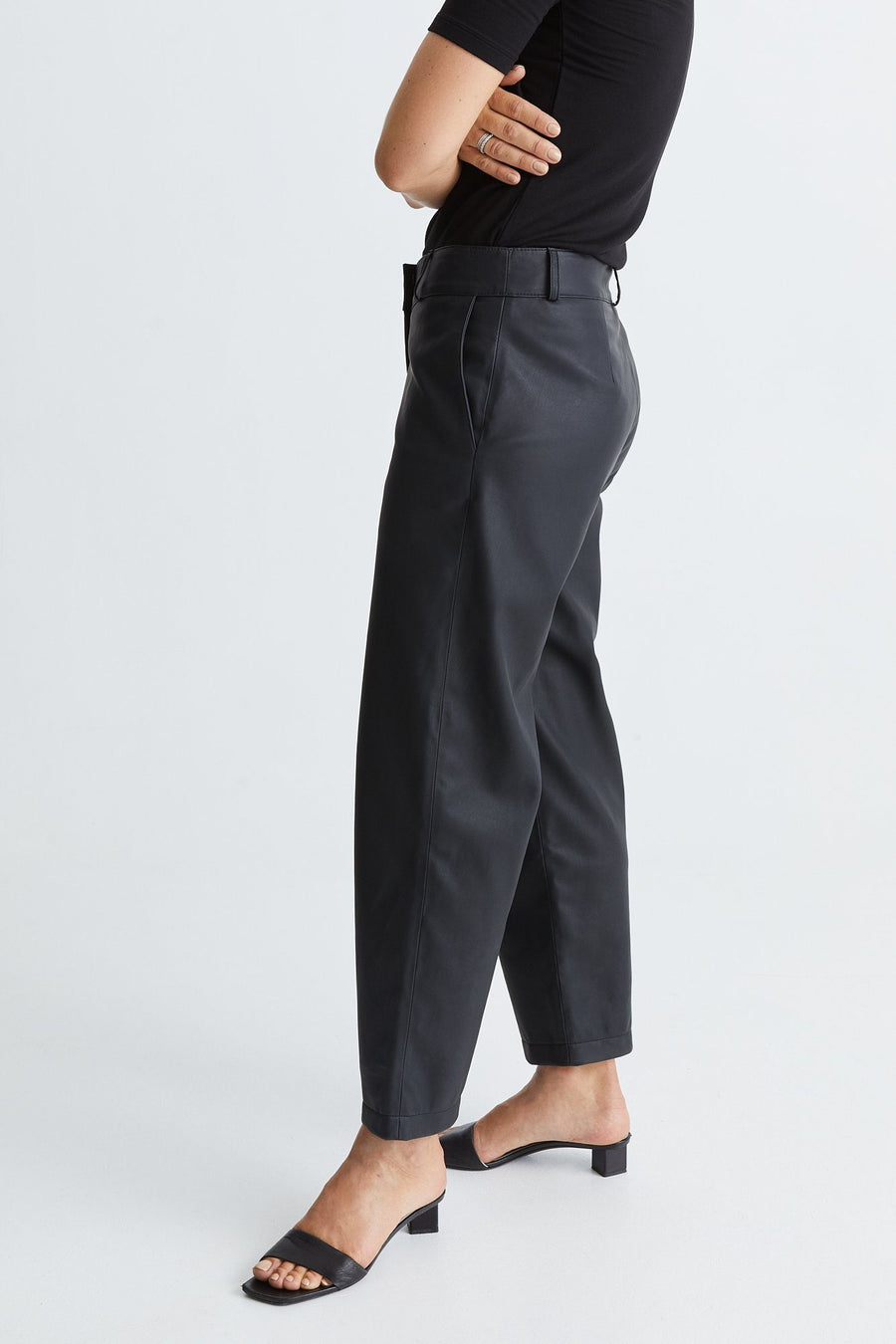 BRYDGES TROUSERS - BLACK