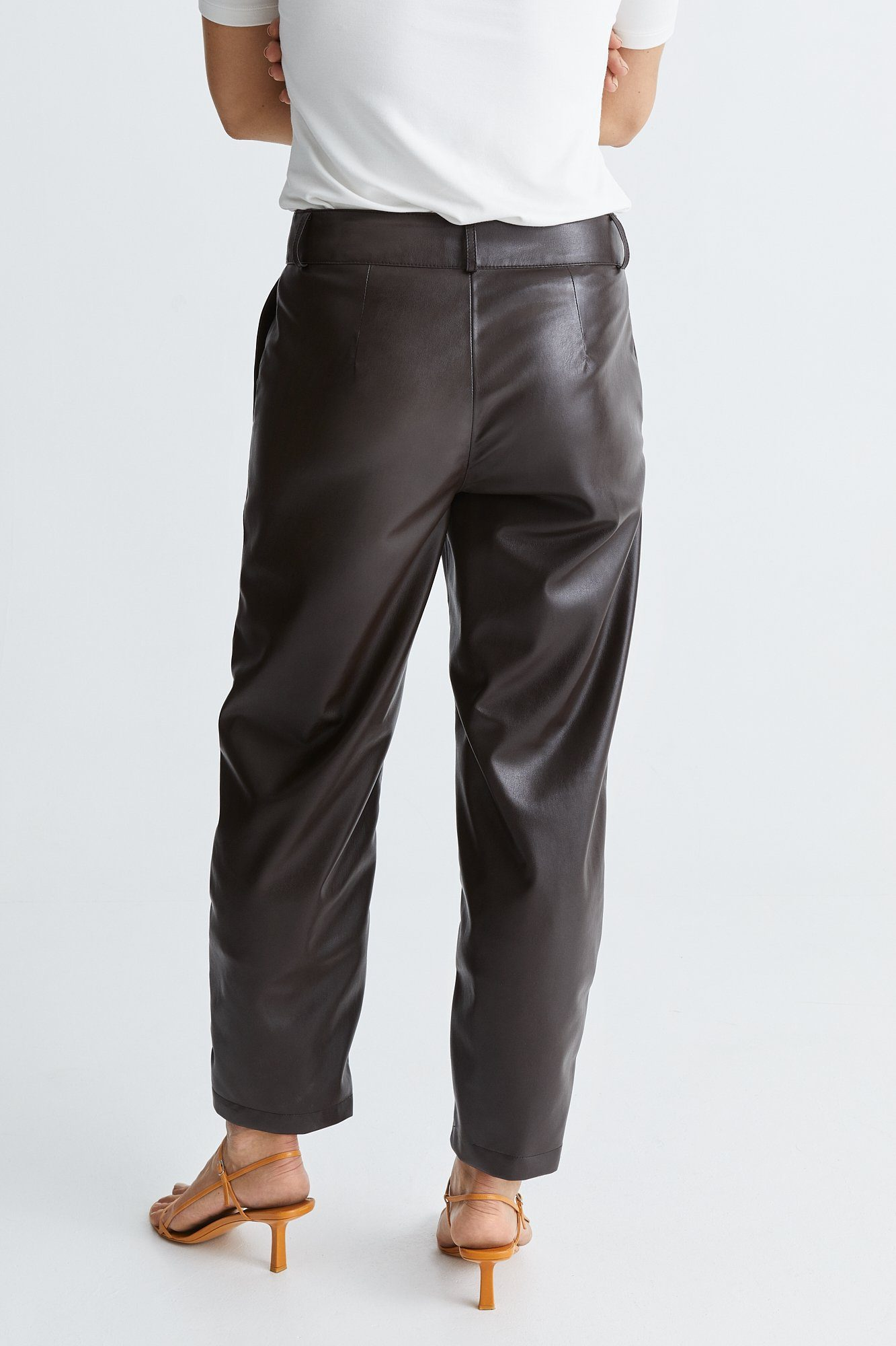 VERDE TROUSERS - BROWN Trousers Stylein
