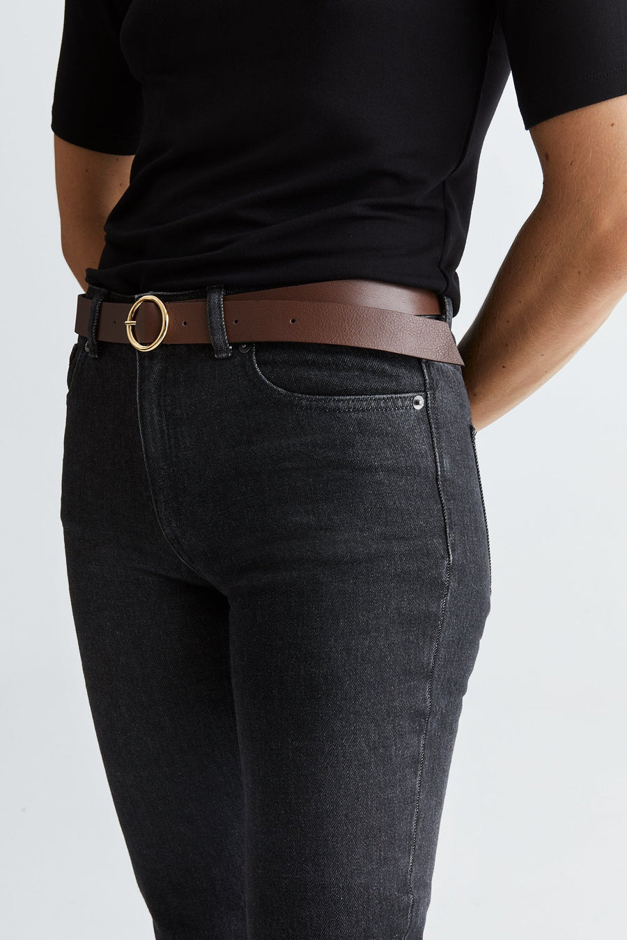 VIONA BELT - BROWN Accessories Stylein
